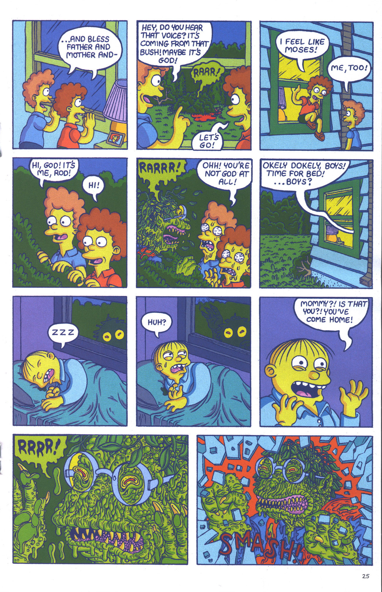 Read online Treehouse of Horror comic -  Issue #15 - 28