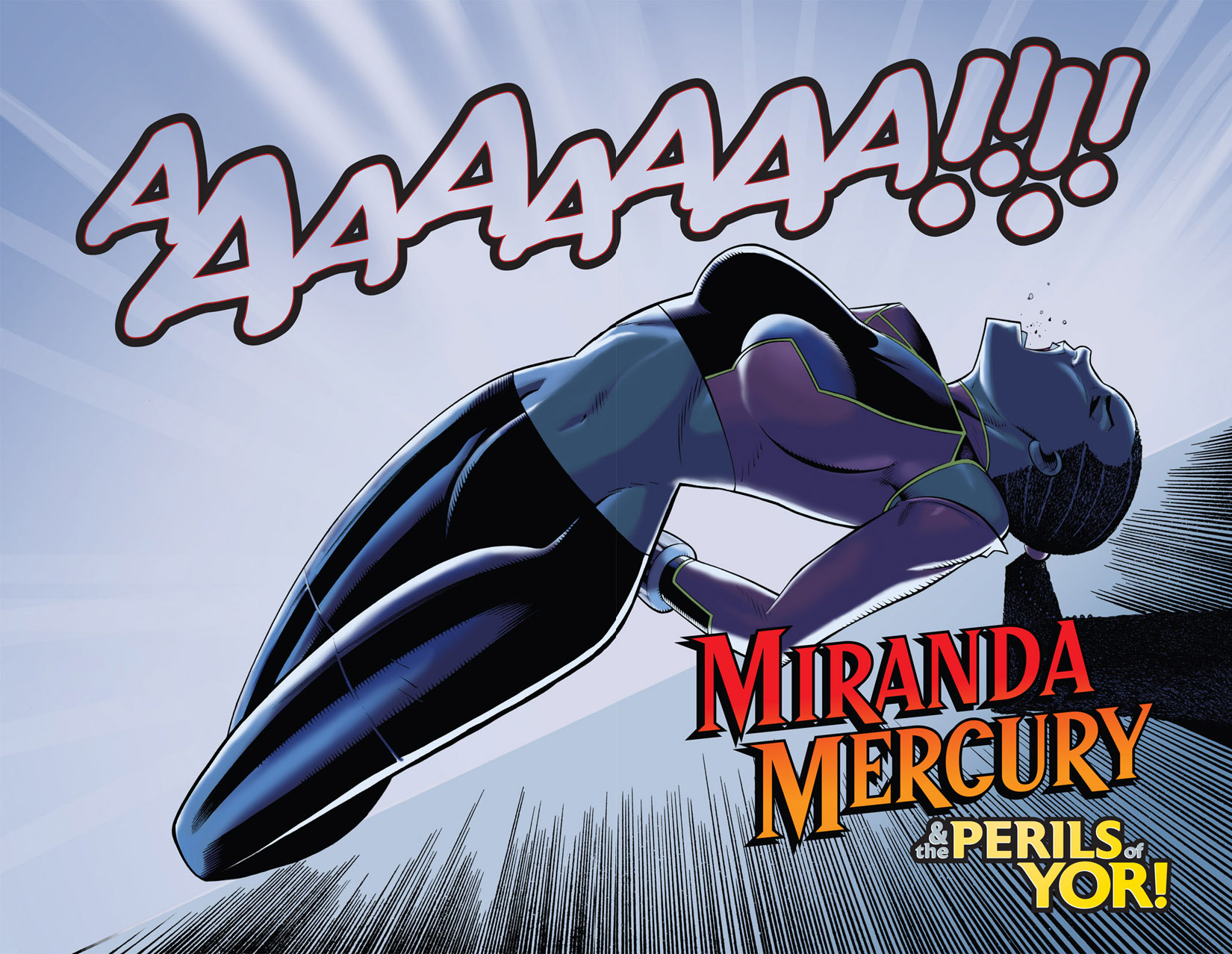 Read online The Many Adventures of Miranda Mercury: Time Runs Out comic -  Issue # TPB - 121
