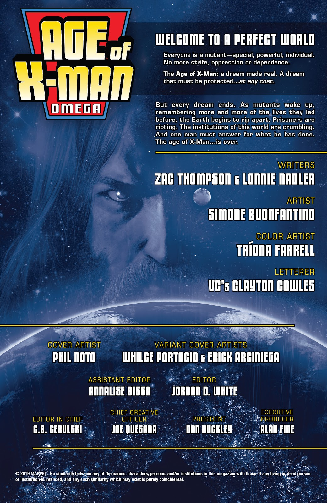 Read online Age of X-Man Omega comic -  Issue # Full - 2