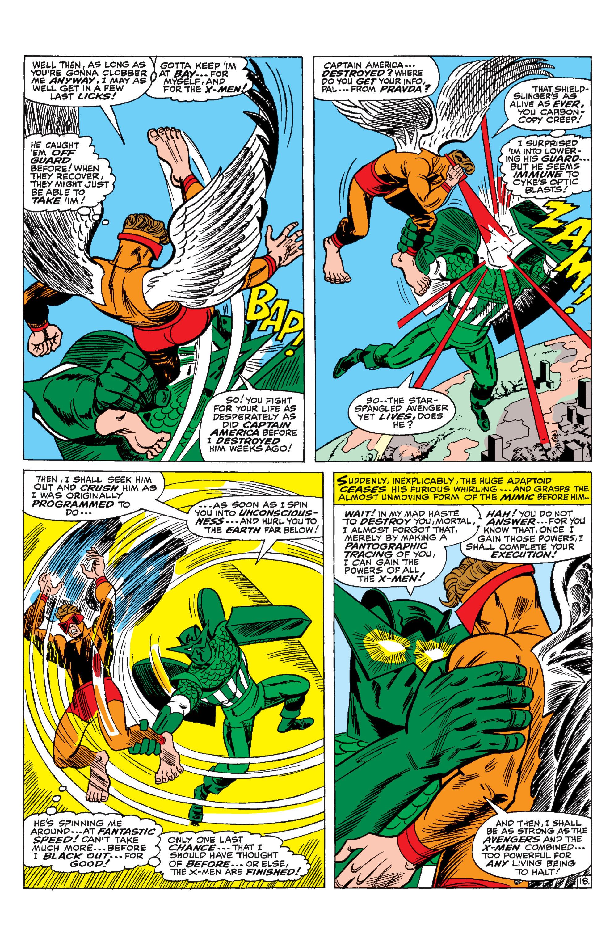 Read online Uncanny X-Men (1963) comic -  Issue #29 - 19