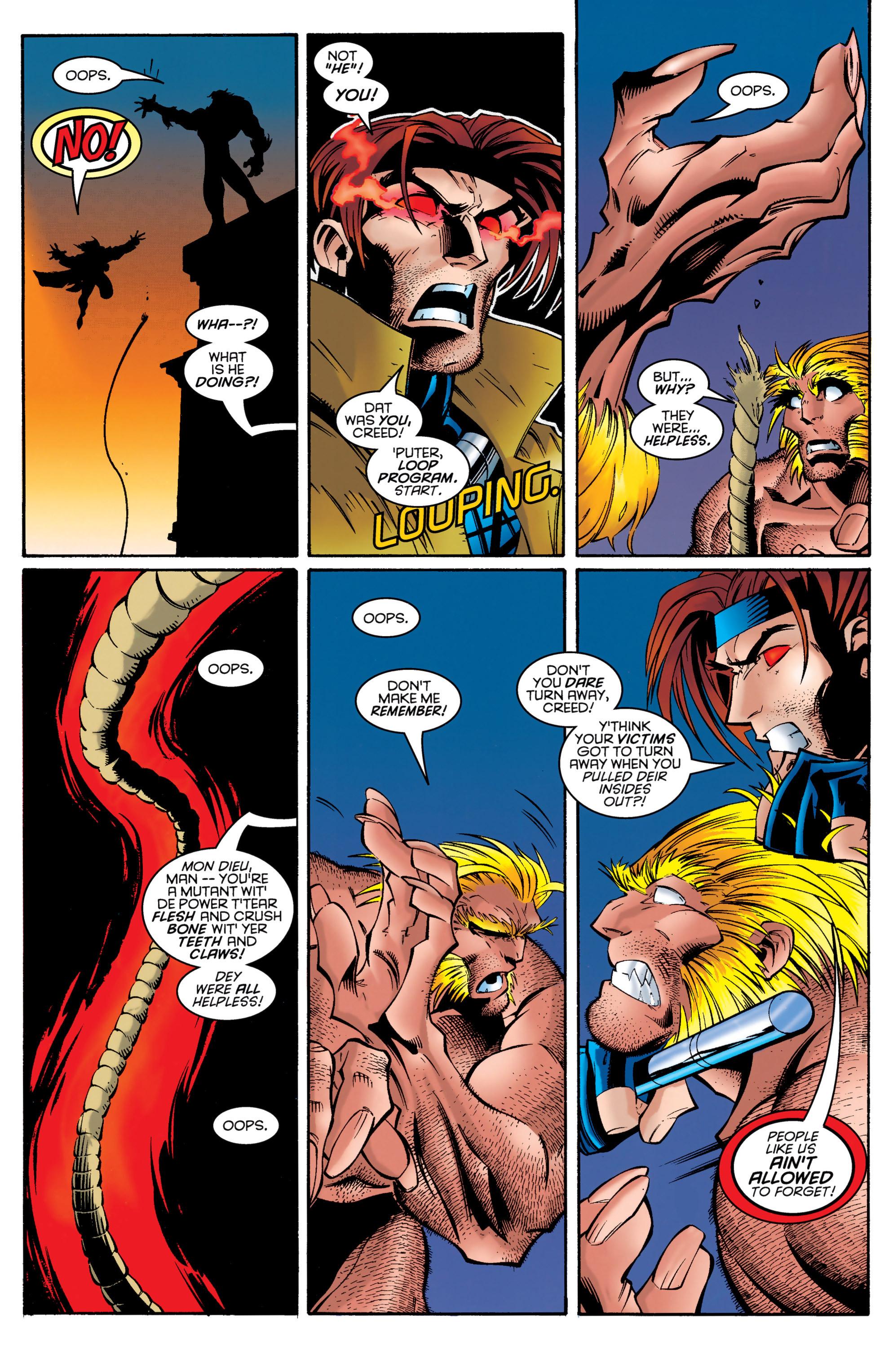 Read online Uncanny X-Men (1963) comic -  Issue #326 - 19