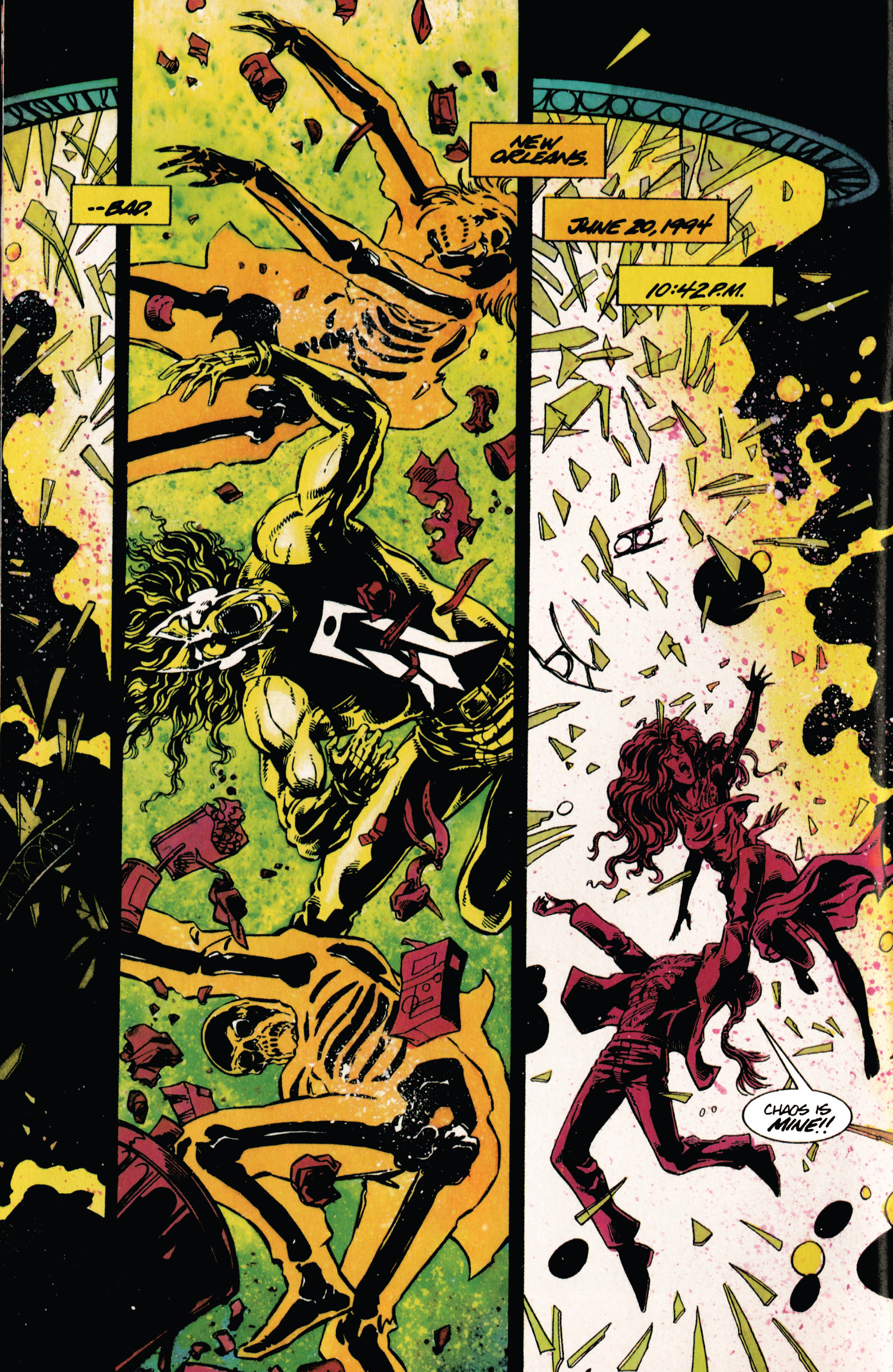 Read online Shadowman (1992) comic -  Issue #29 - 5