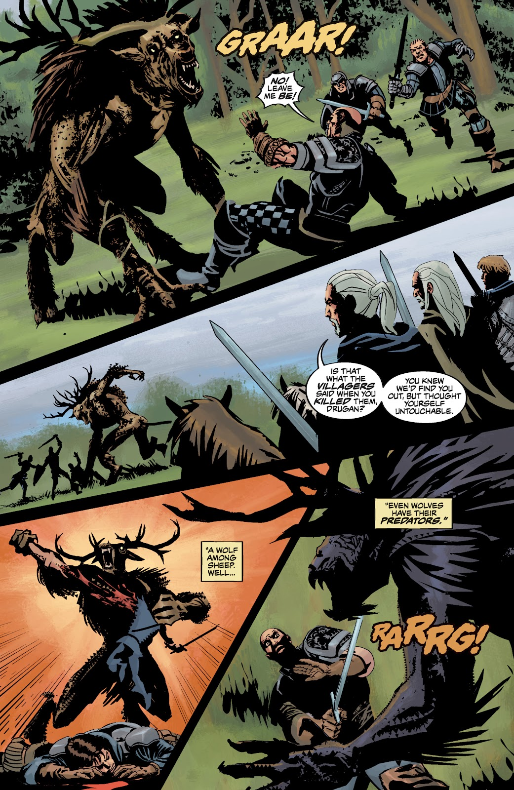 Read online The Witcher Omnibus comic -  Issue # TPB (Part 3) - 87
