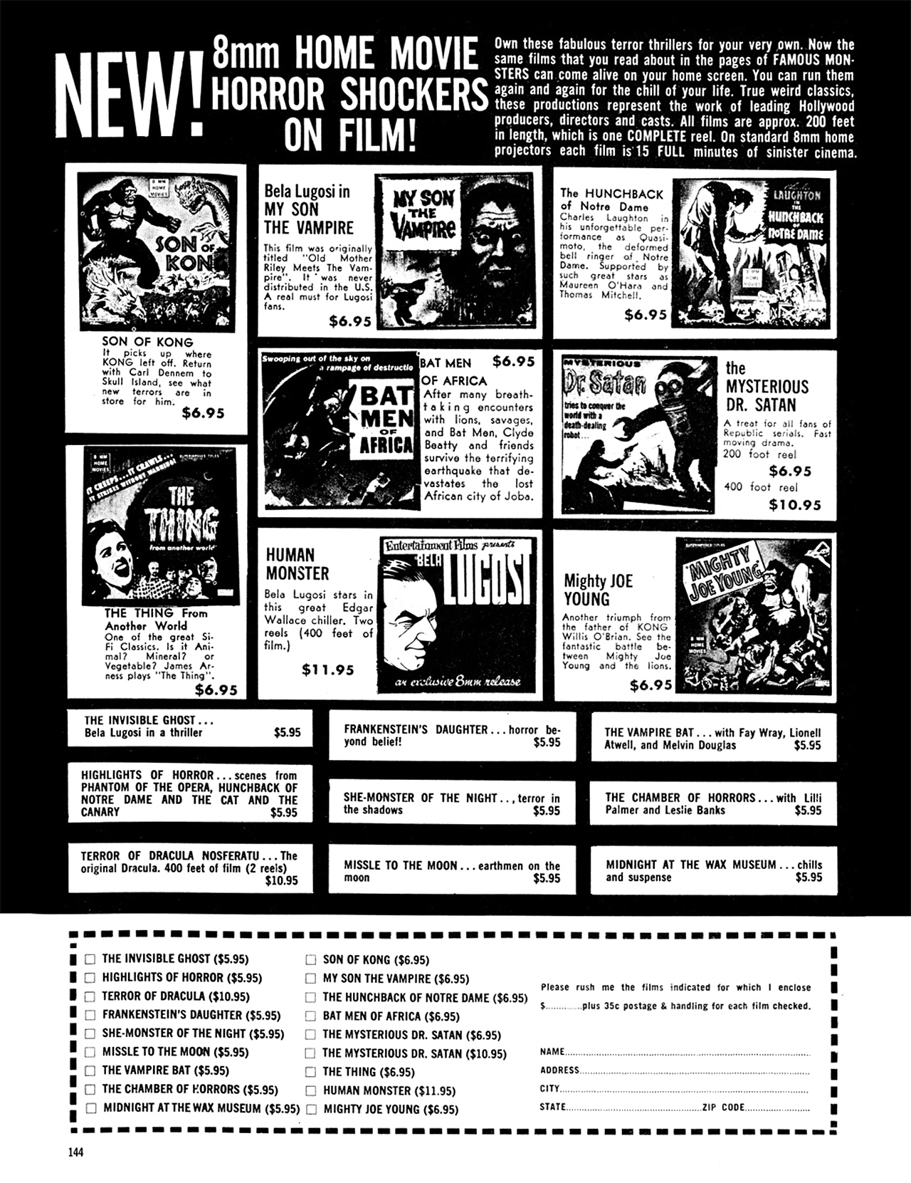 Read online Eerie Archives comic -  Issue # TPB 9 - 145