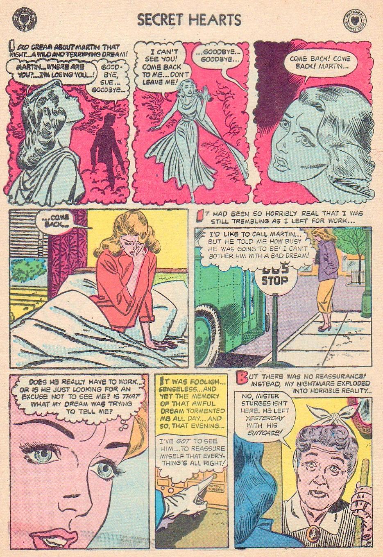 Read online Secret Hearts comic -  Issue #44 - 8