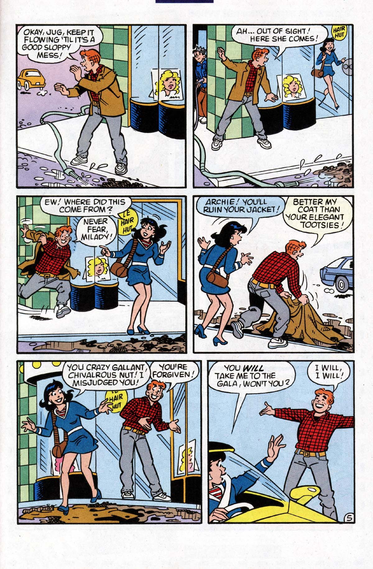 Read online Archie (1960) comic -  Issue #528 - 6