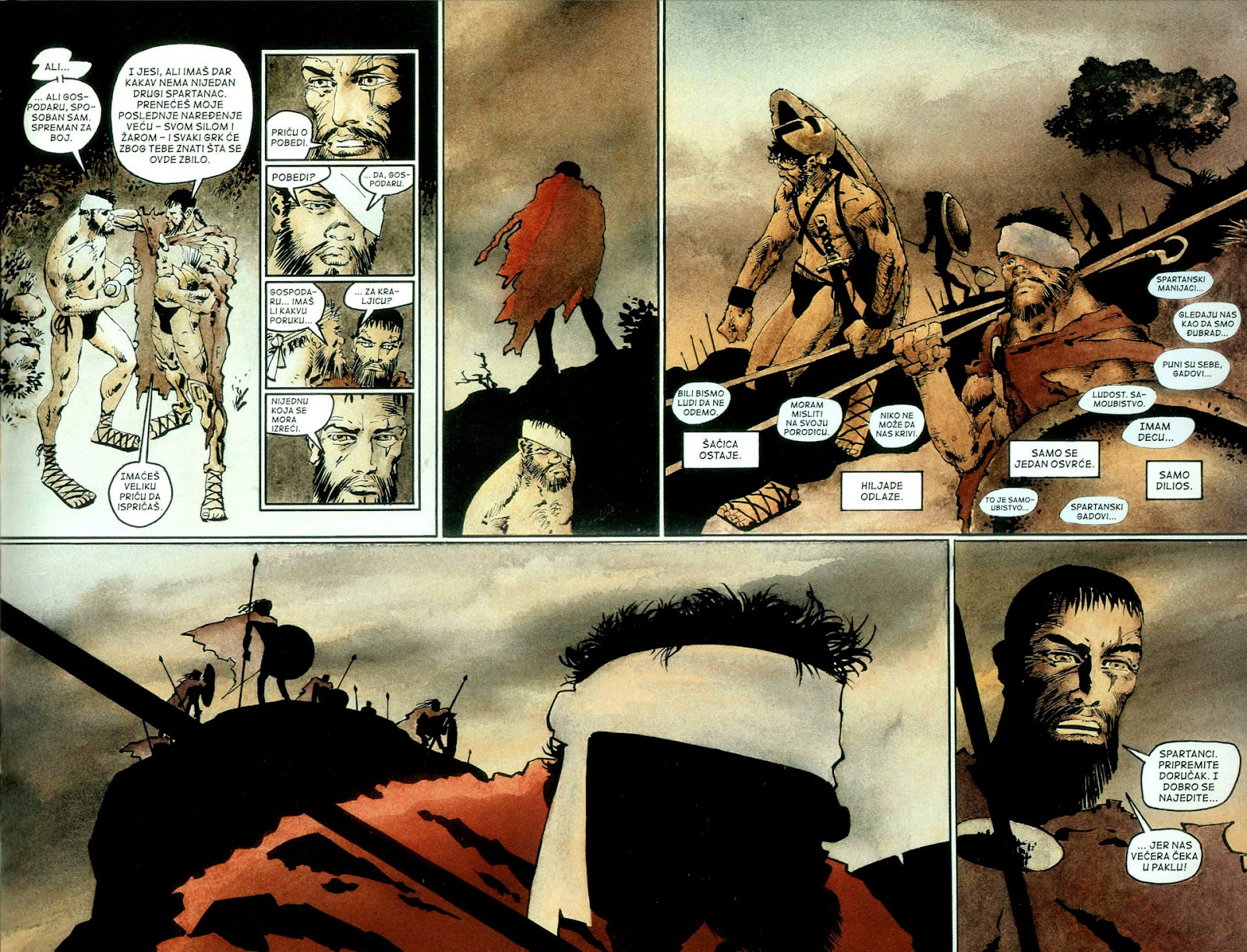 Read online 300 (2007) comic -  Issue # TPB - 70
