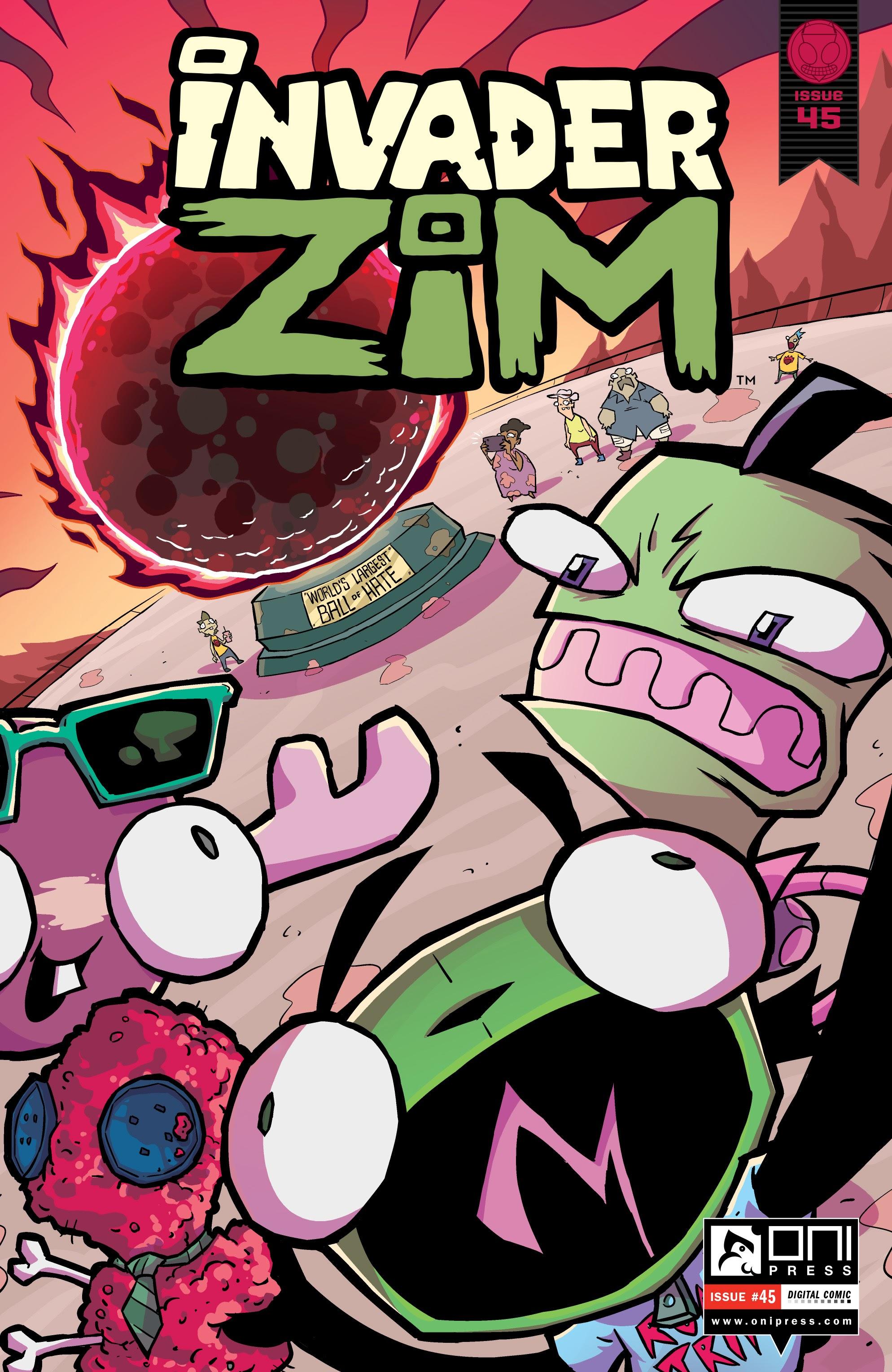 Invader Zim 45 Page 1