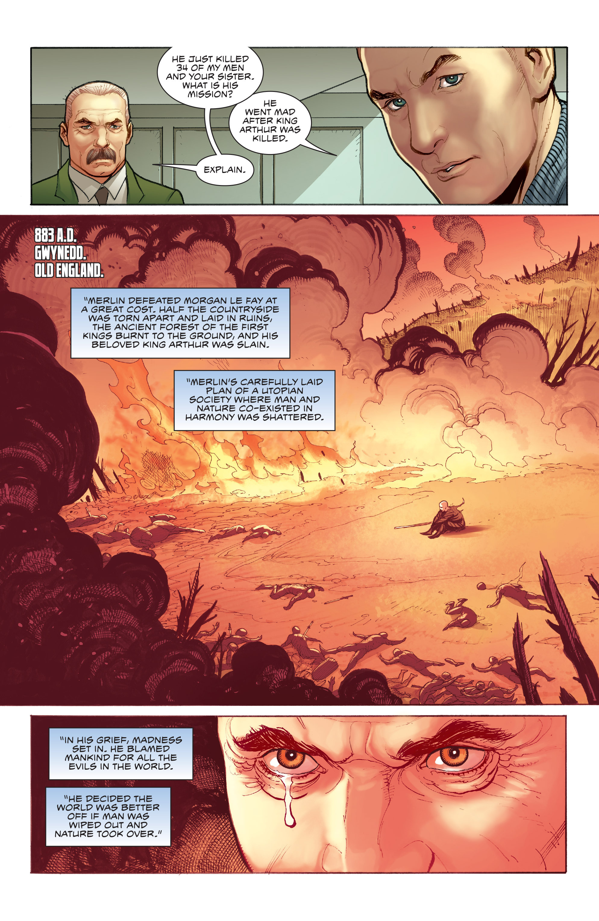 Read online Skybourne comic -  Issue #3 - 19