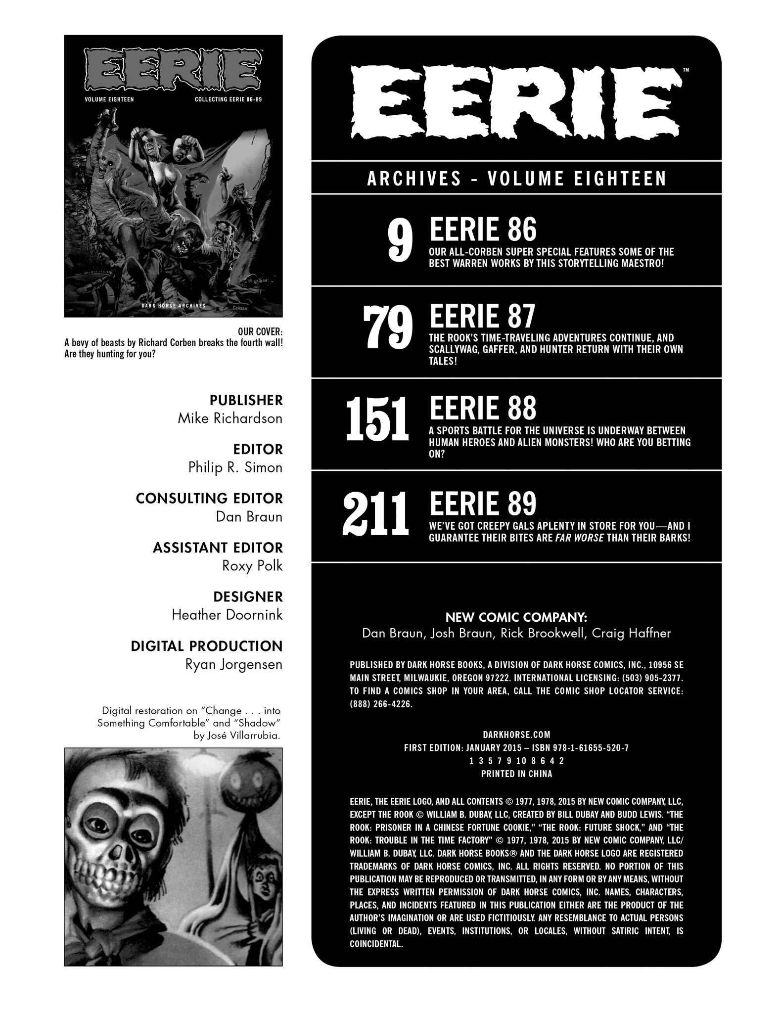 Read online Eerie Archives comic -  Issue # TPB 18 - 4