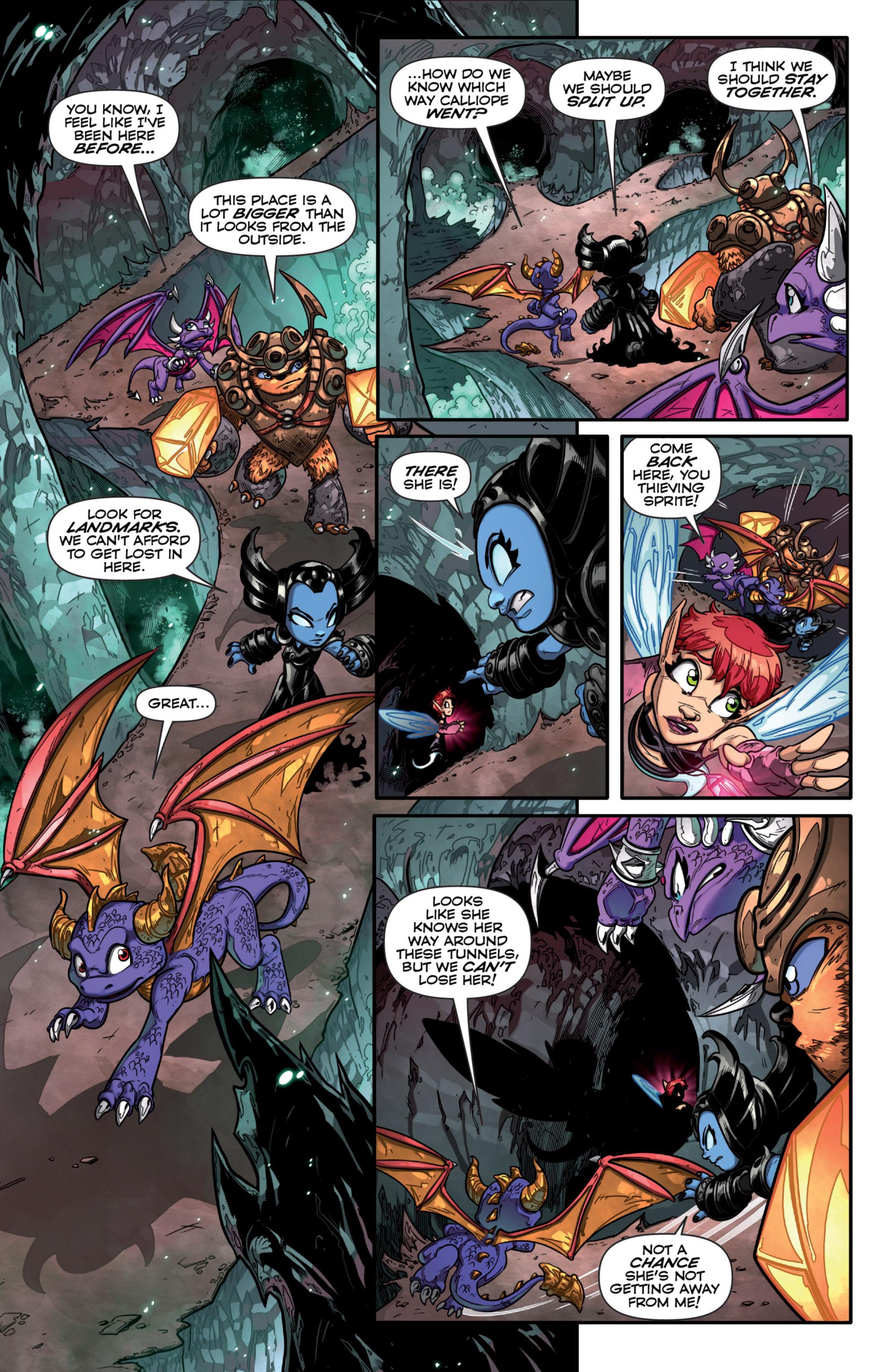 Read online Skylanders comic -  Issue #7 - 15