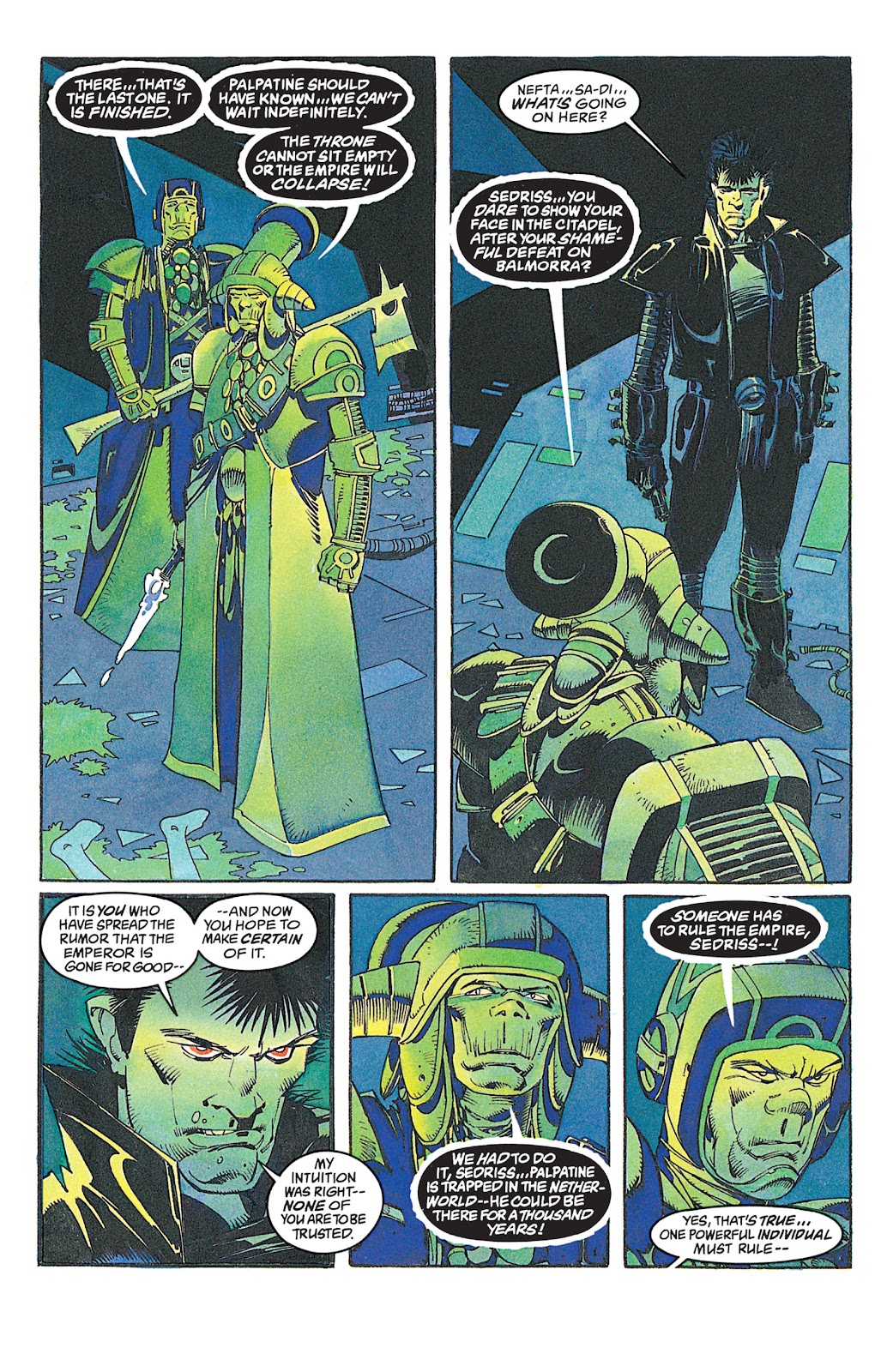 Read online Star Wars: Dark Empire Trilogy comic -  Issue # TPB (Part 2) - 79