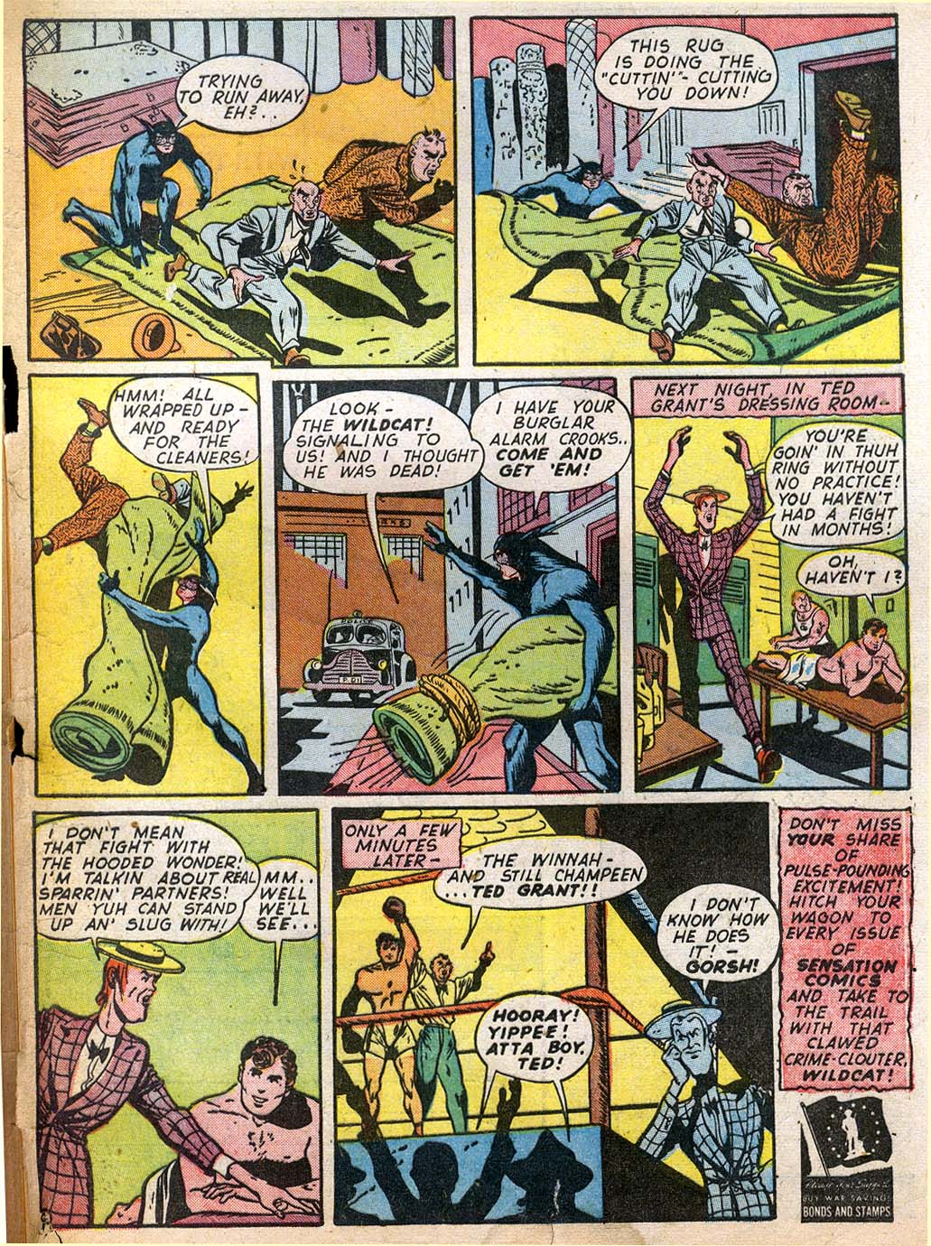 Read online Sensation (Mystery) Comics comic -  Issue #27 - 57
