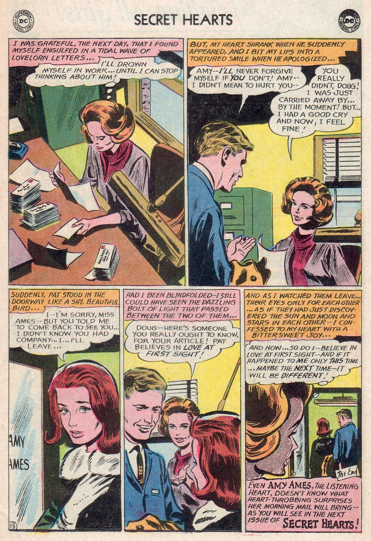 Read online Secret Hearts comic -  Issue #107 - 15
