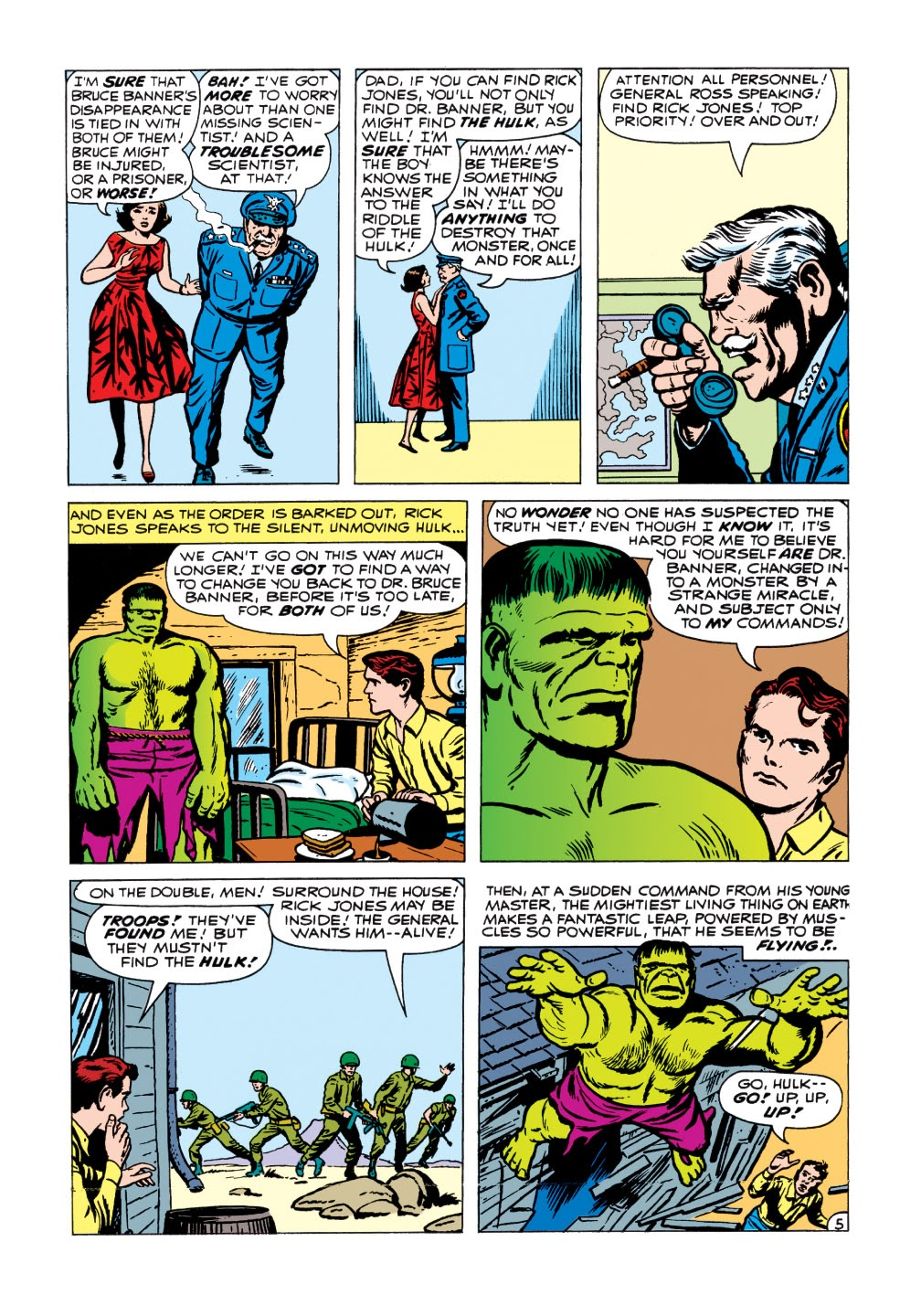 Read online Marvel Masterworks: The Incredible Hulk comic -  Issue # TPB 1 (Part 1) - 83