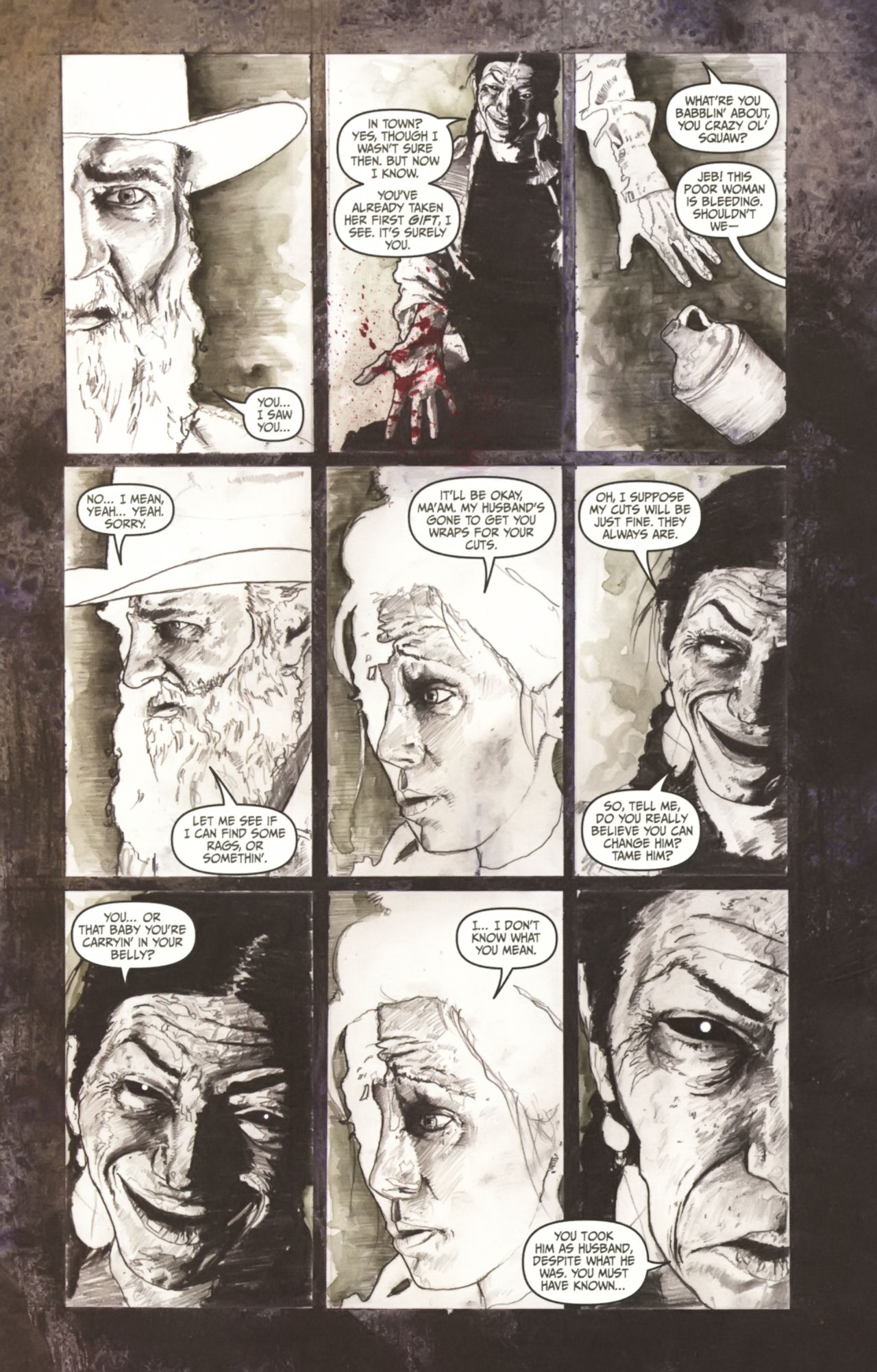Read online Silent Hill: Past Life comic -  Issue #1 - 22