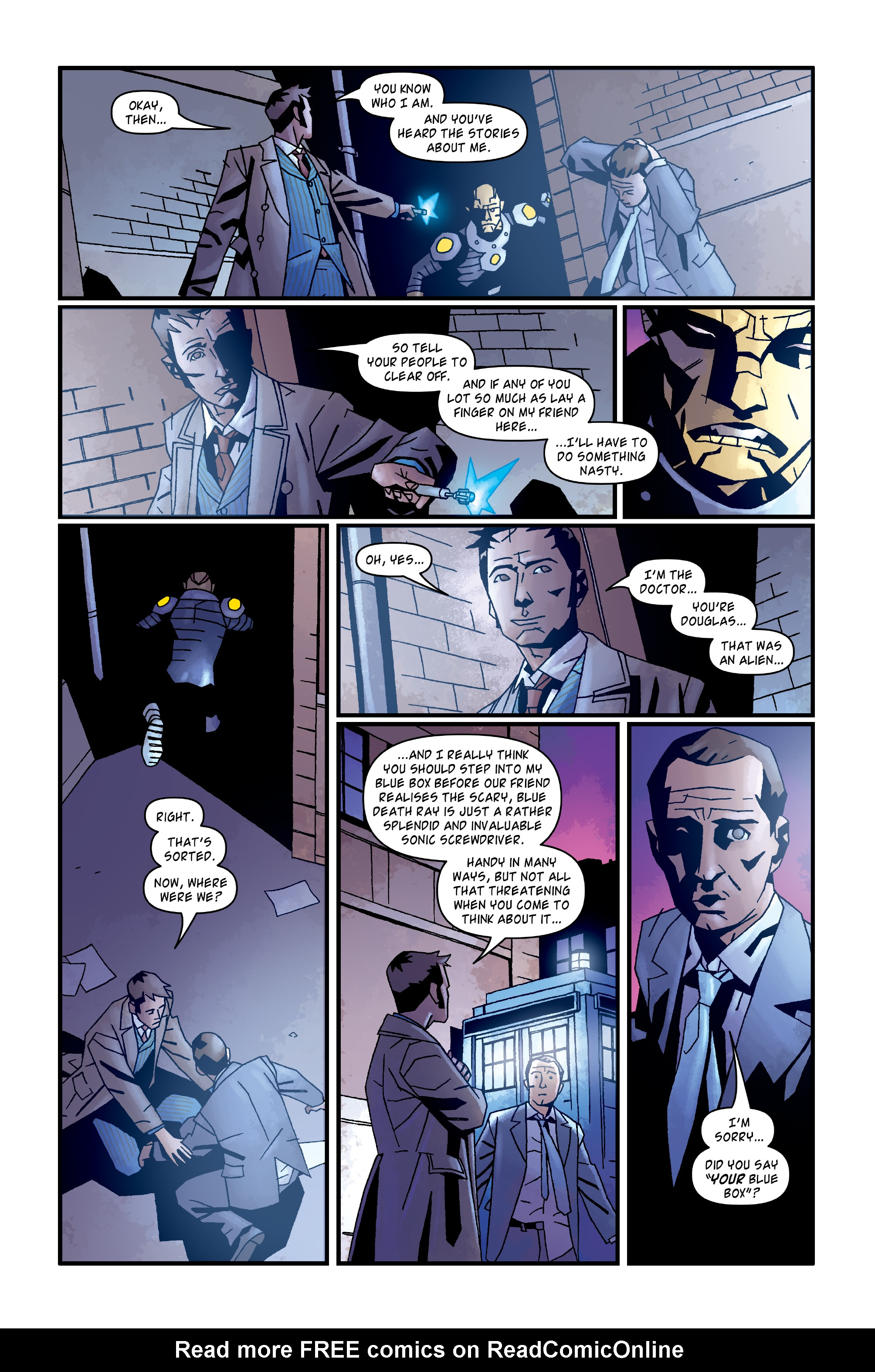 Read online Doctor Who: The Tenth Doctor Archives comic -  Issue #35 - 27