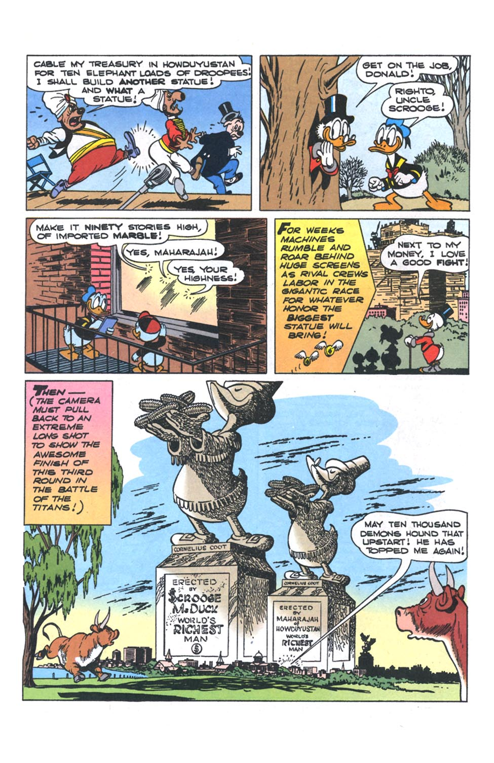Read online Uncle Scrooge (1953) comic -  Issue #301 - 7