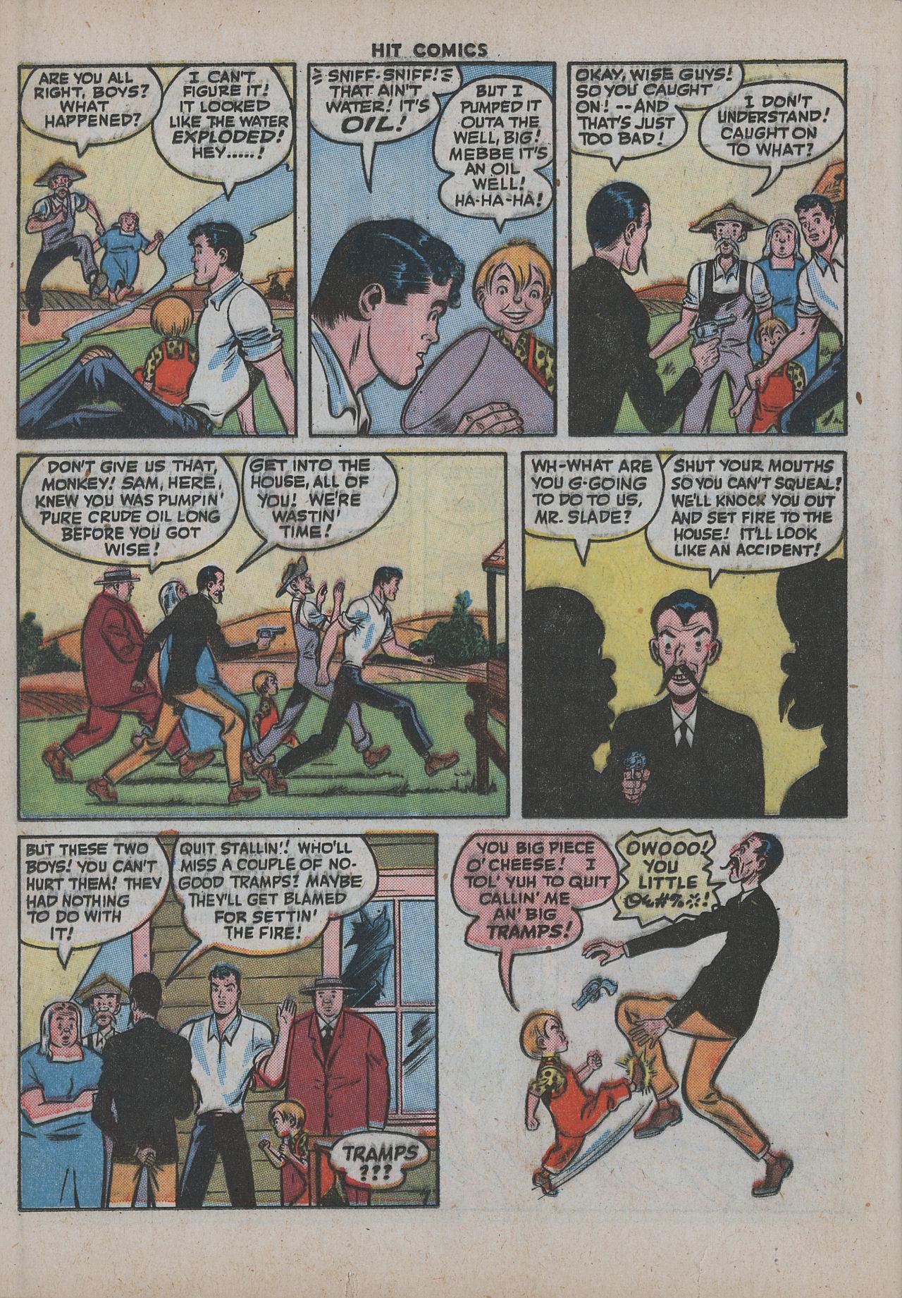Read online Hit Comics comic -  Issue #38 - 39