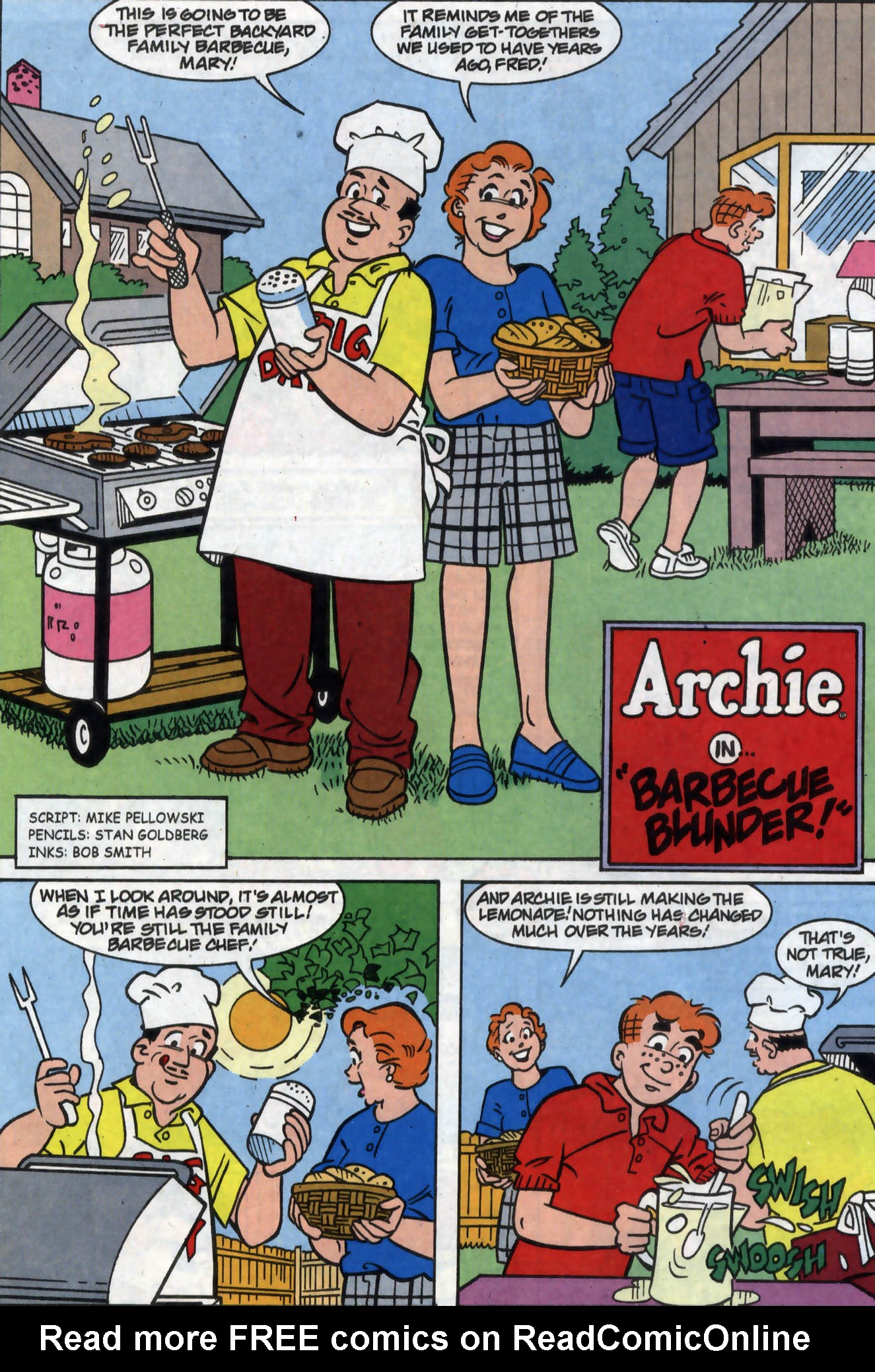 Read online Archie (1960) comic -  Issue #558 - 14