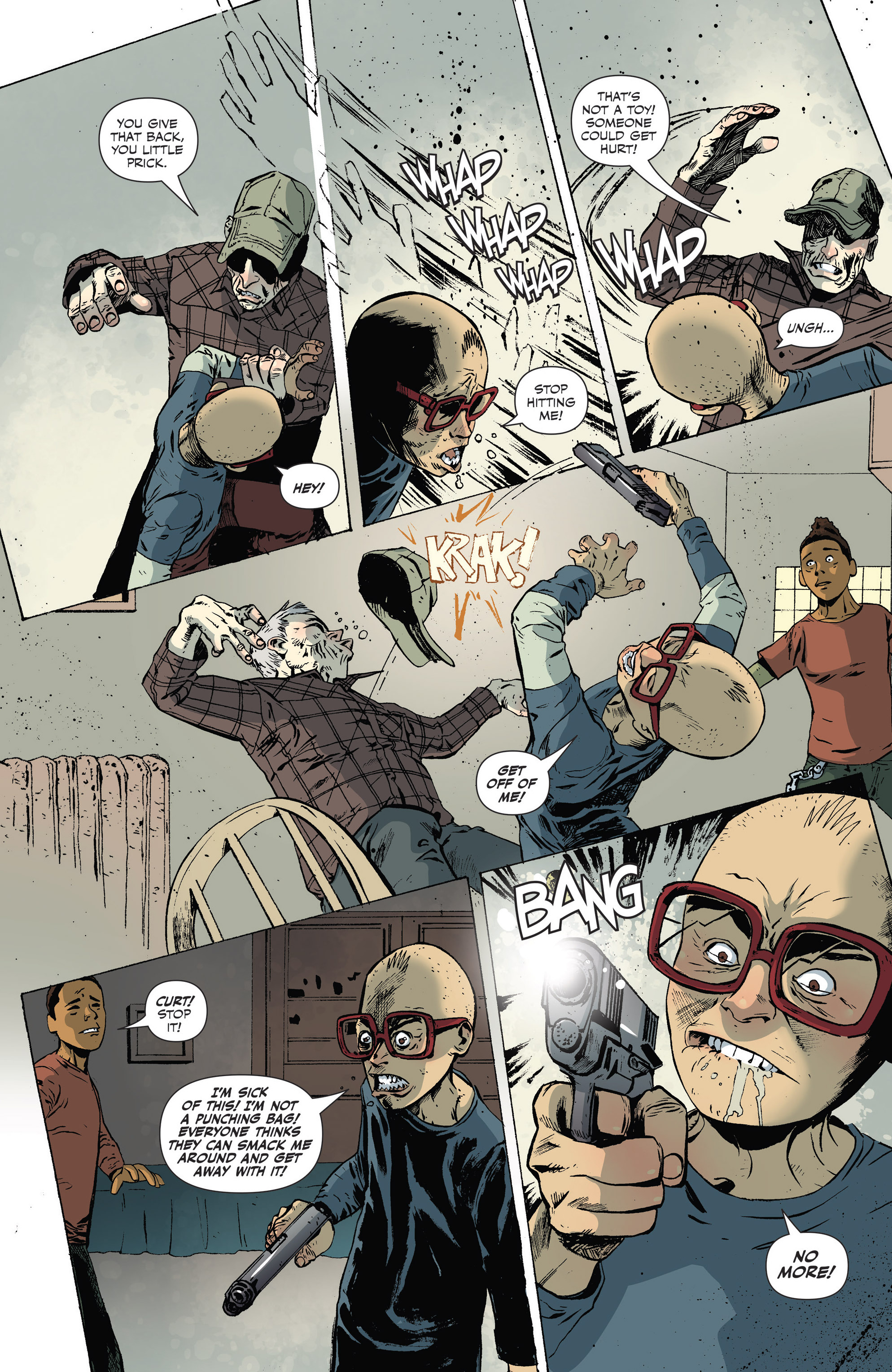 Read online Sheltered comic -  Issue #9 - 16