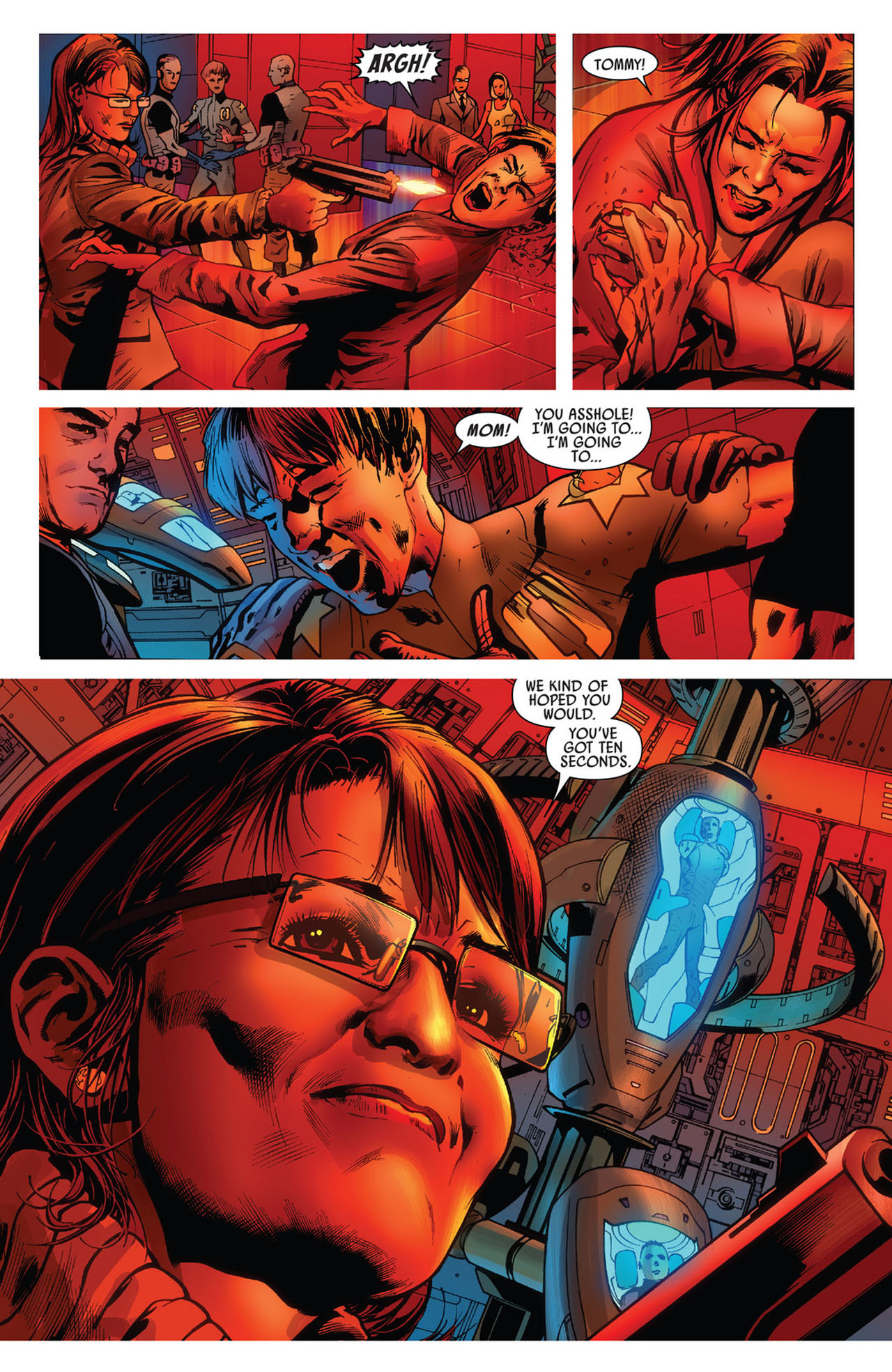 Read online America's Got Powers comic -  Issue #5 - 10
