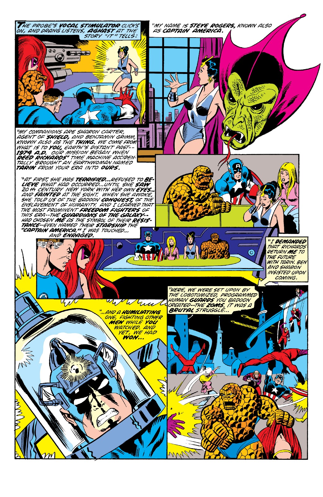 Read online Marvel Two-In-One Epic Collection: Cry Monster comic -  Issue # TPB (Part 2) - 26