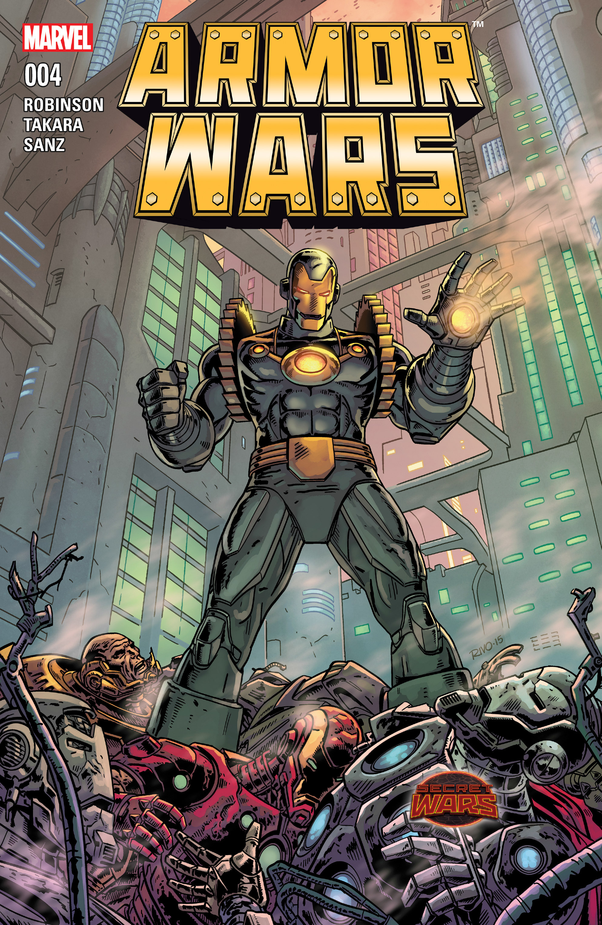 Read online Armor Wars comic -  Issue #4 - 1