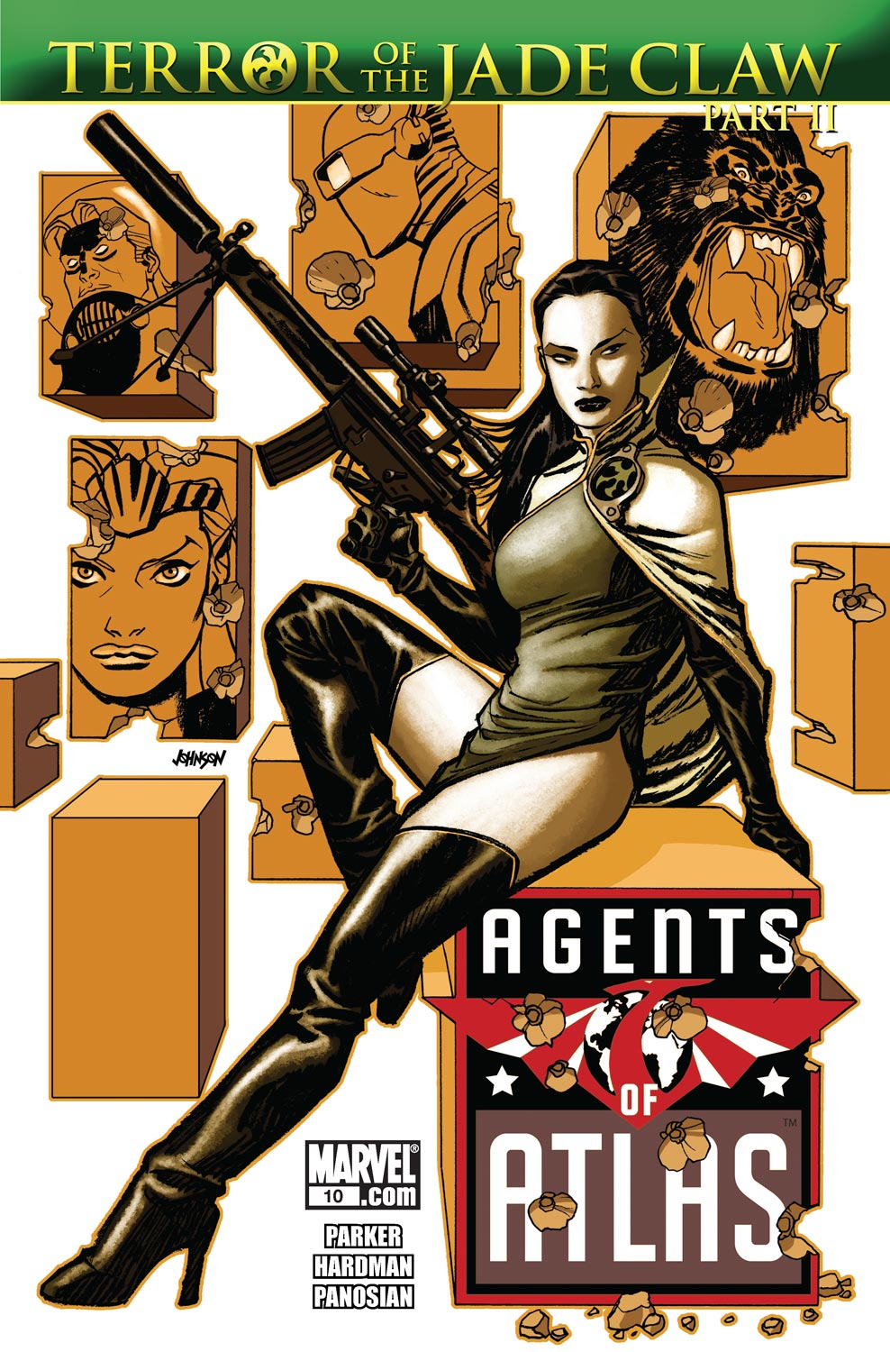Read online Agents Of Atlas (2009) comic -  Issue #10 - 1