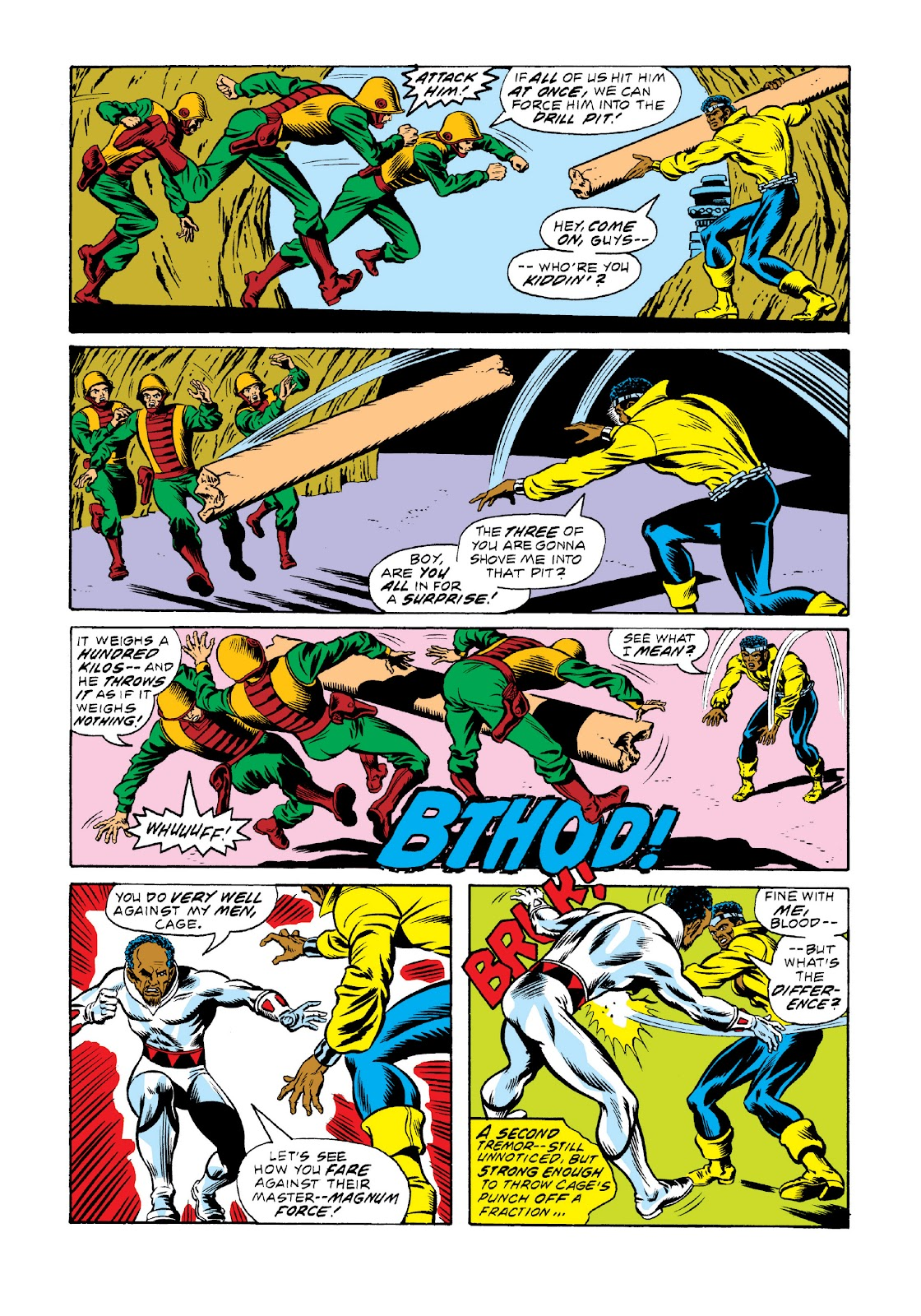 Read online Marvel Masterworks: Luke Cage, Power Man comic -  Issue # TPB 3 (Part 2) - 10