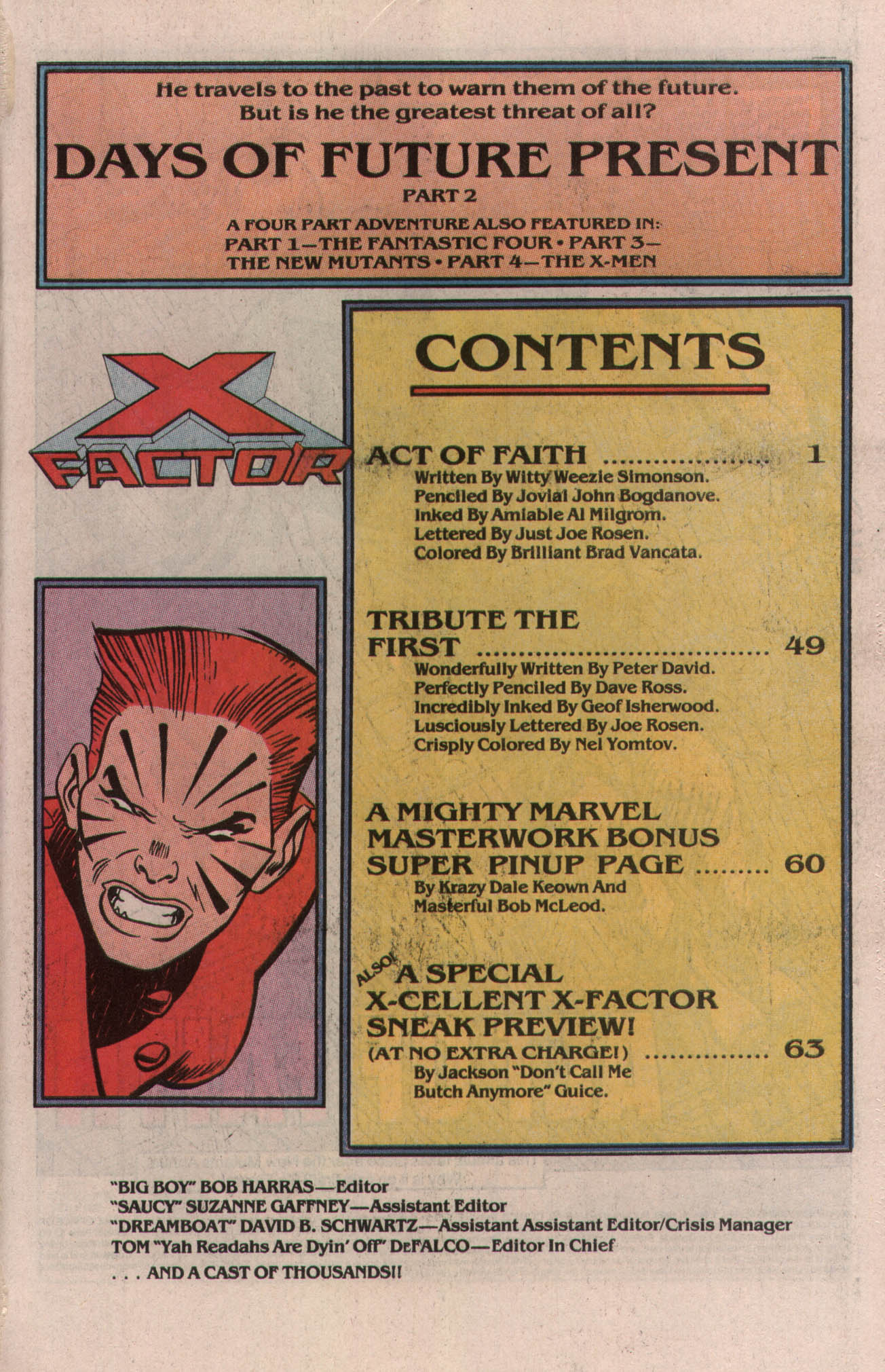 Read online X-Factor (1986) comic -  Issue # _ Annual 5 - 2