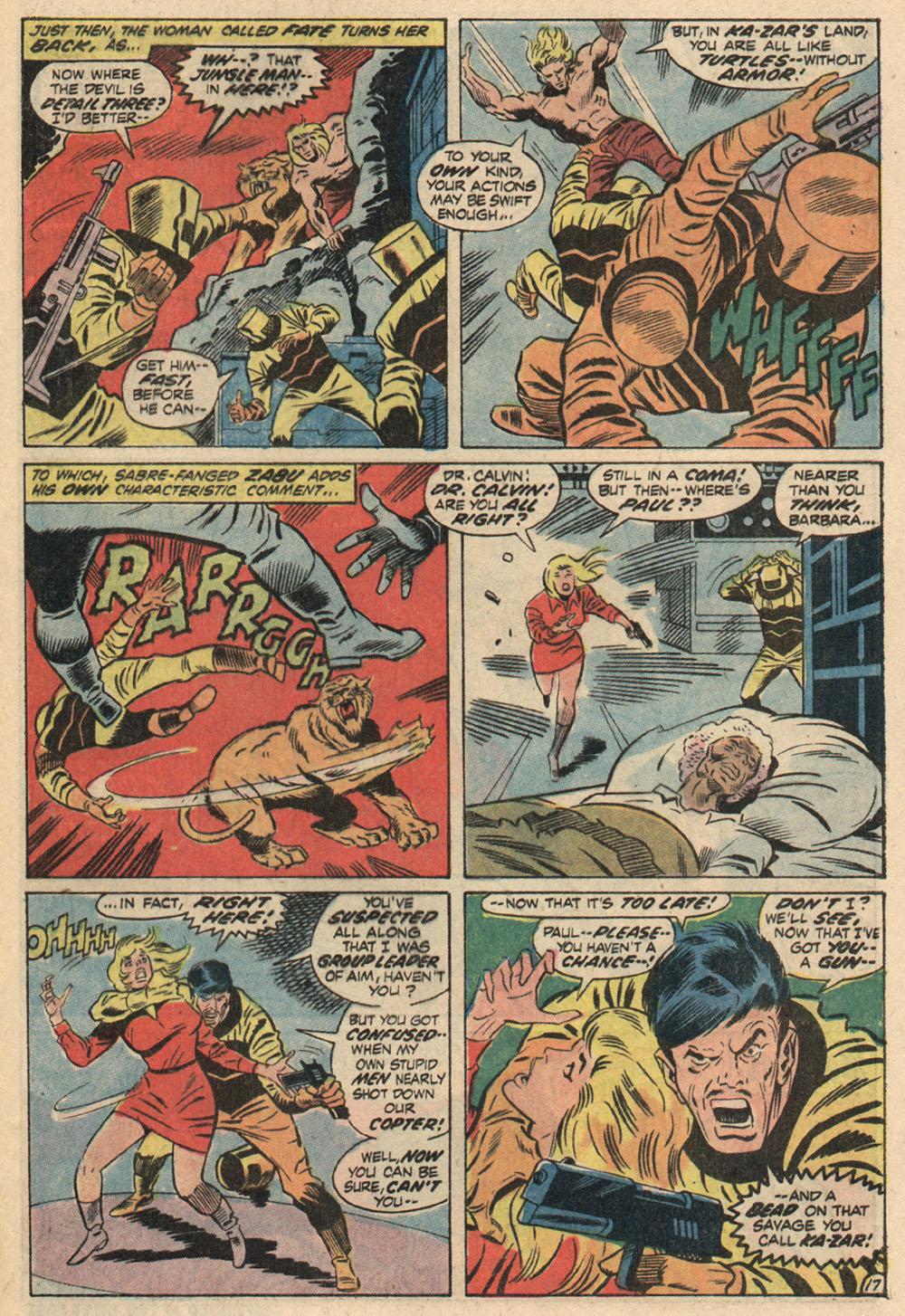 Read online Astonishing Tales (1970) comic -  Issue #13 - 19