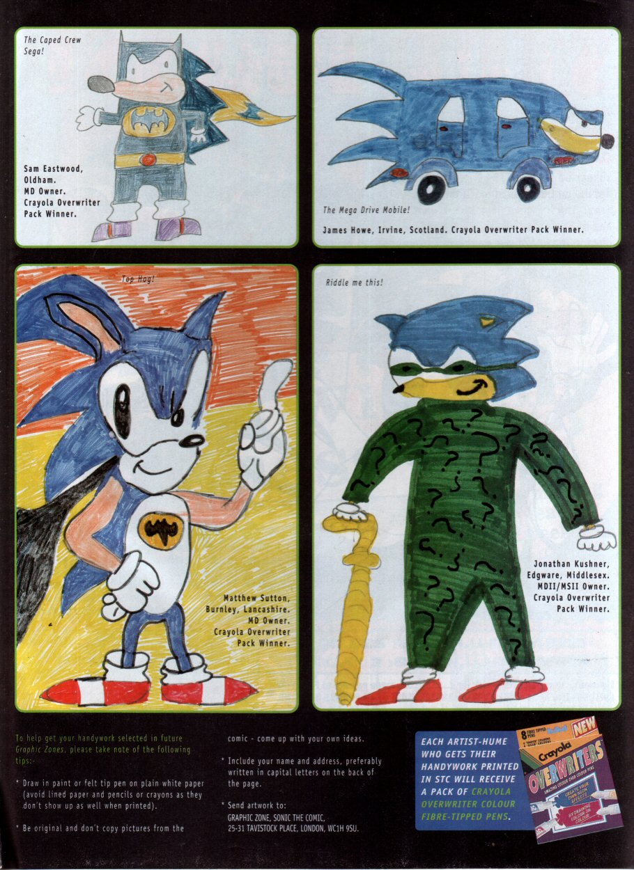 Read online Sonic the Comic comic -  Issue #69 - 11