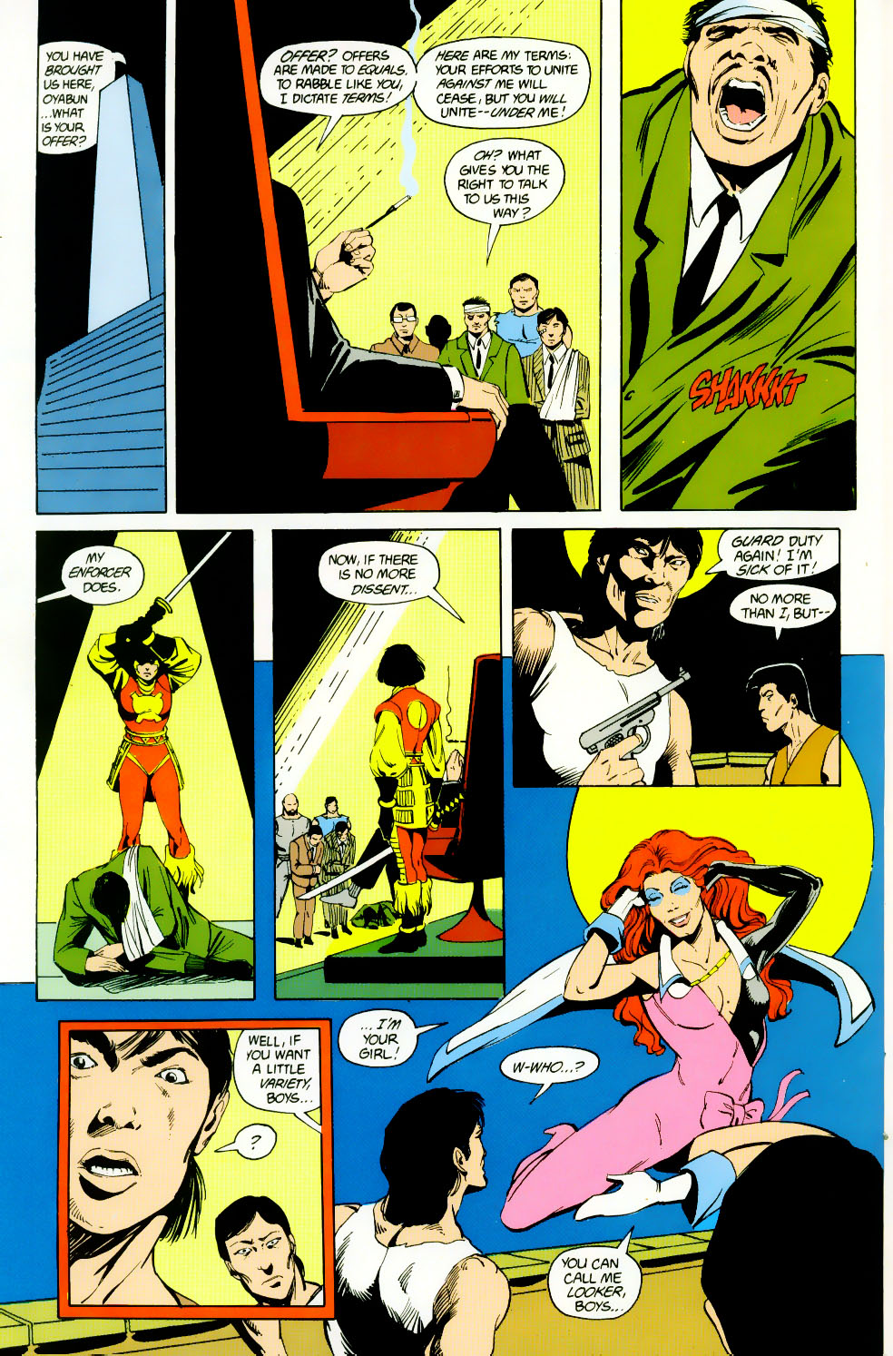Read online Adventures of the Outsiders comic -  Issue #46 - 23