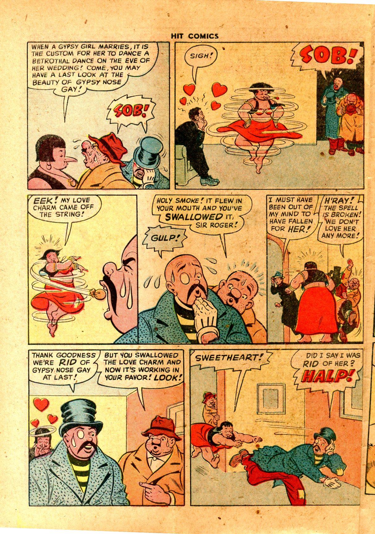 Read online Hit Comics comic -  Issue #57 - 44
