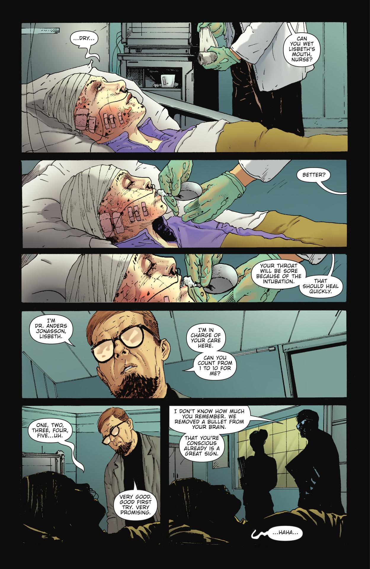 Read online The Girl Who Kicked The Hornet's Nest comic -  Issue # TPB - 35