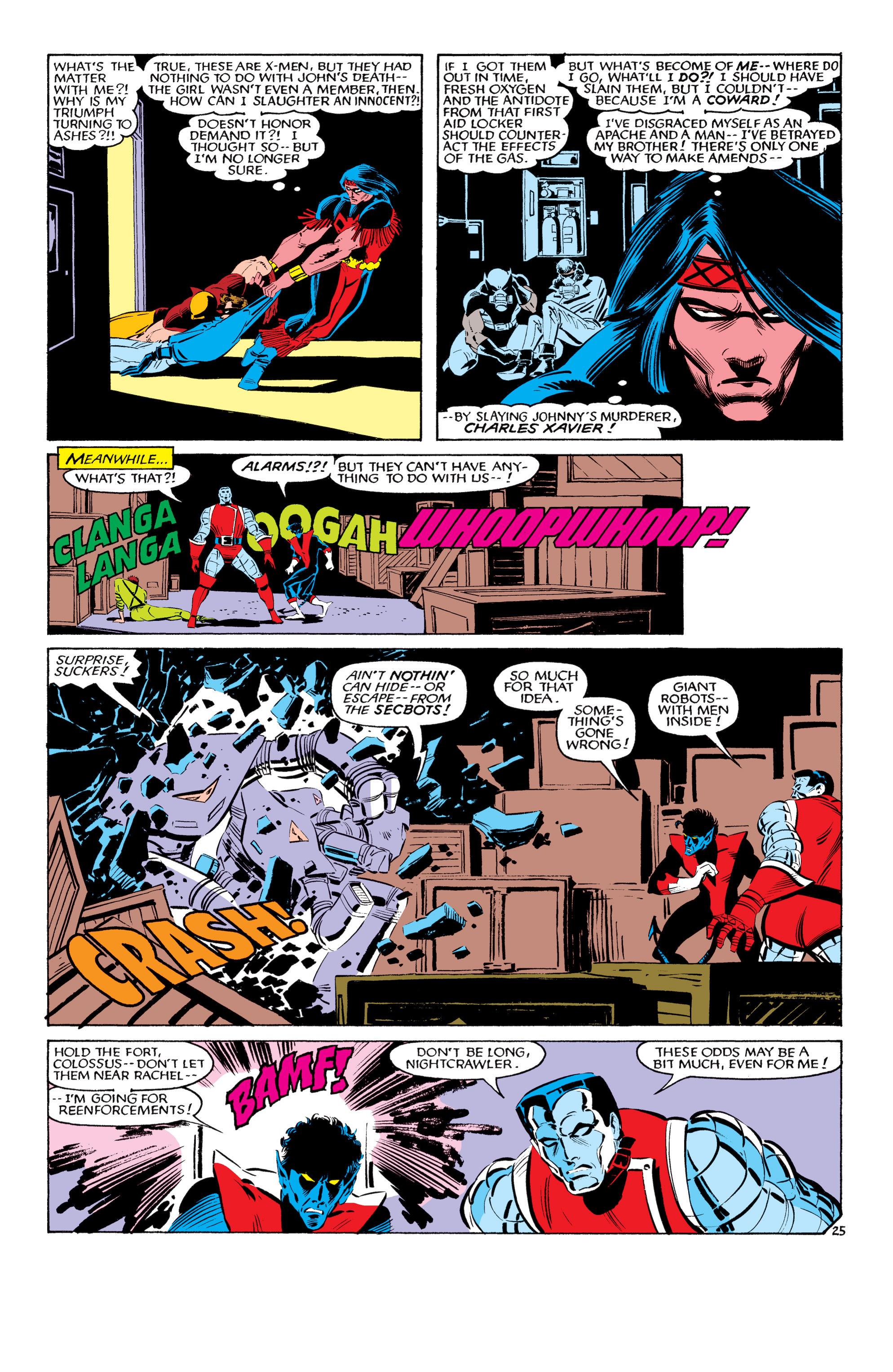 Read online Uncanny X-Men (1963) comic -  Issue #193 - 26