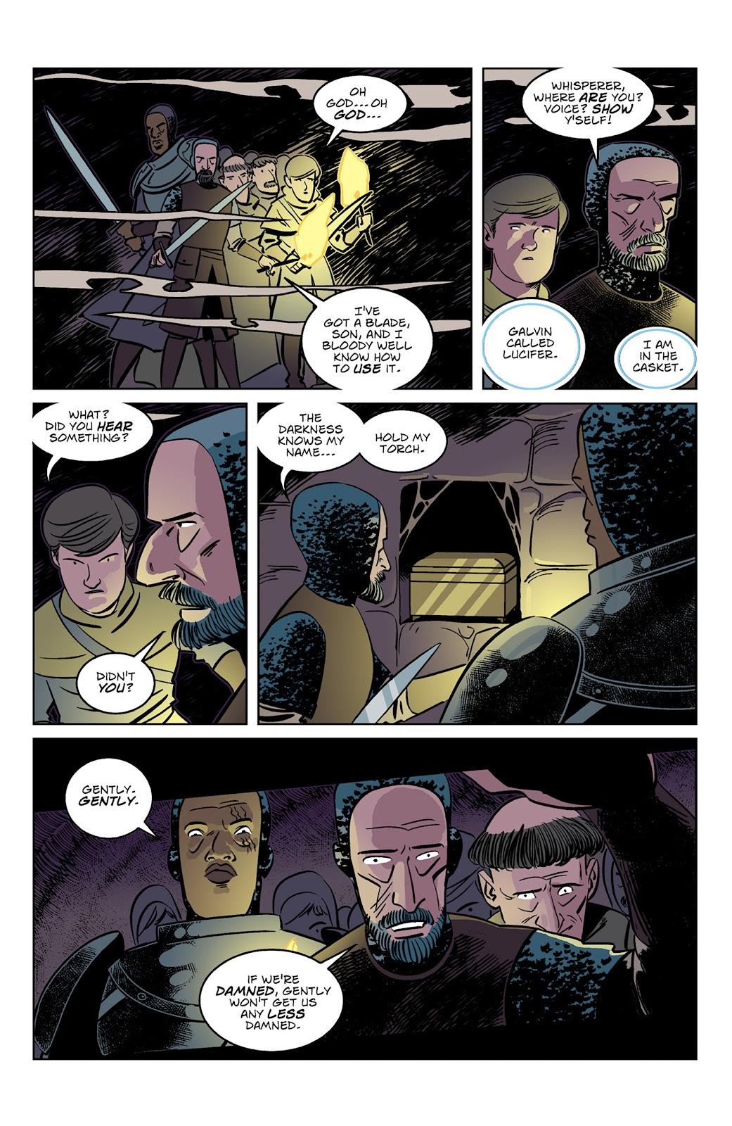 Read online Dark Ages comic -  Issue #3 - 6
