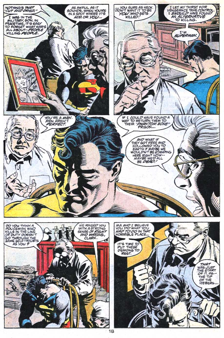 Read online Adventures of Superman (1987) comic -  Issue #450 - 19