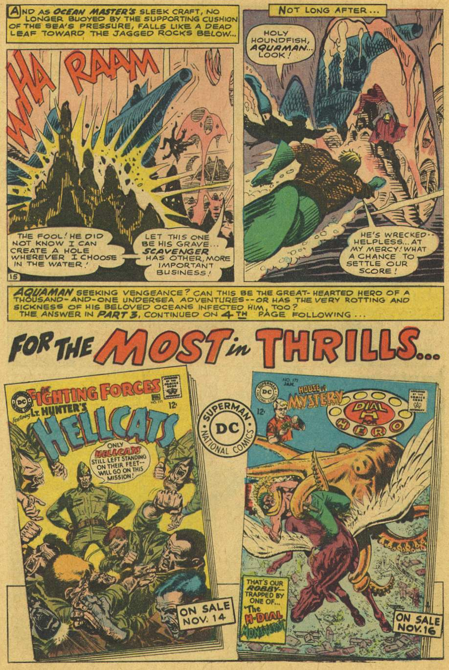 Read online Aquaman (1962) comic -  Issue #37 - 20