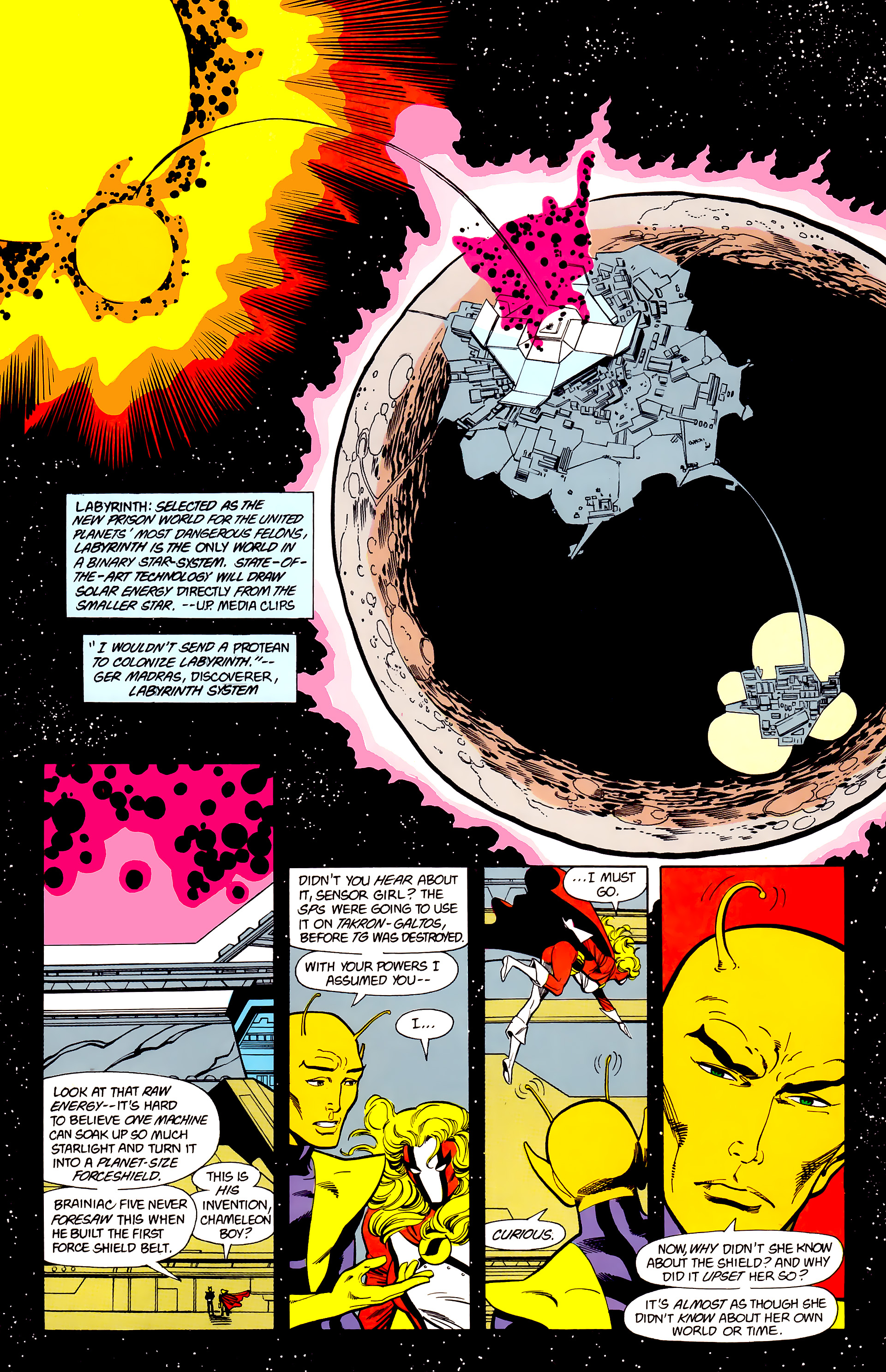 Legion of Super-Heroes (1984) 22 Page 5