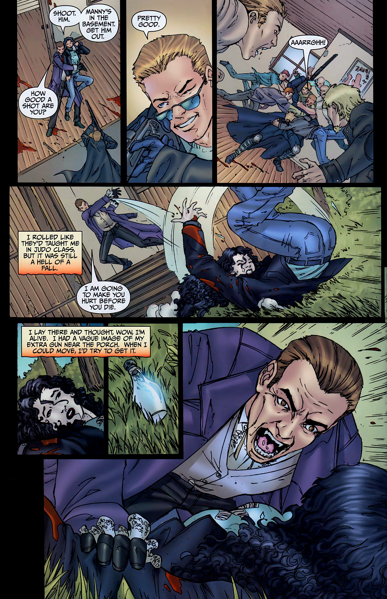 Read online Anita Blake, Vampire Hunter: The First Death comic -  Issue #2 - 35