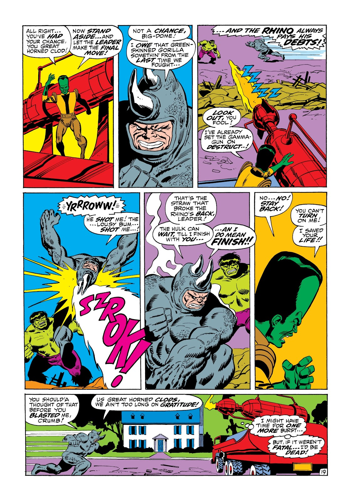 Read online Marvel Masterworks: The Incredible Hulk comic -  Issue # TPB 6 (Part 1) - 70