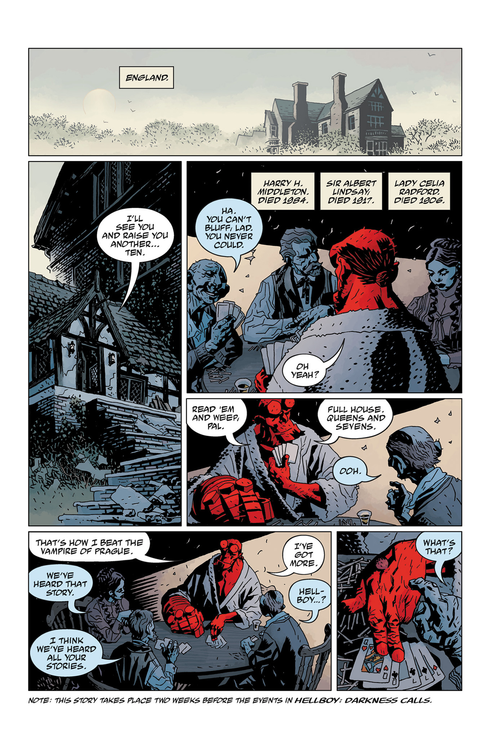 Read online Hellboy: The Crooked Man and Others comic -  Issue # TPB - 136
