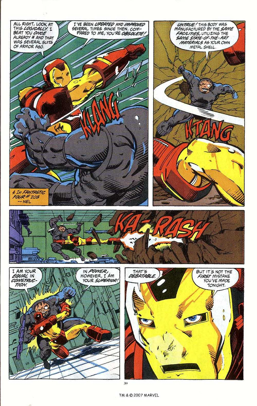 Iron Man Annual issue 12 - Page 41