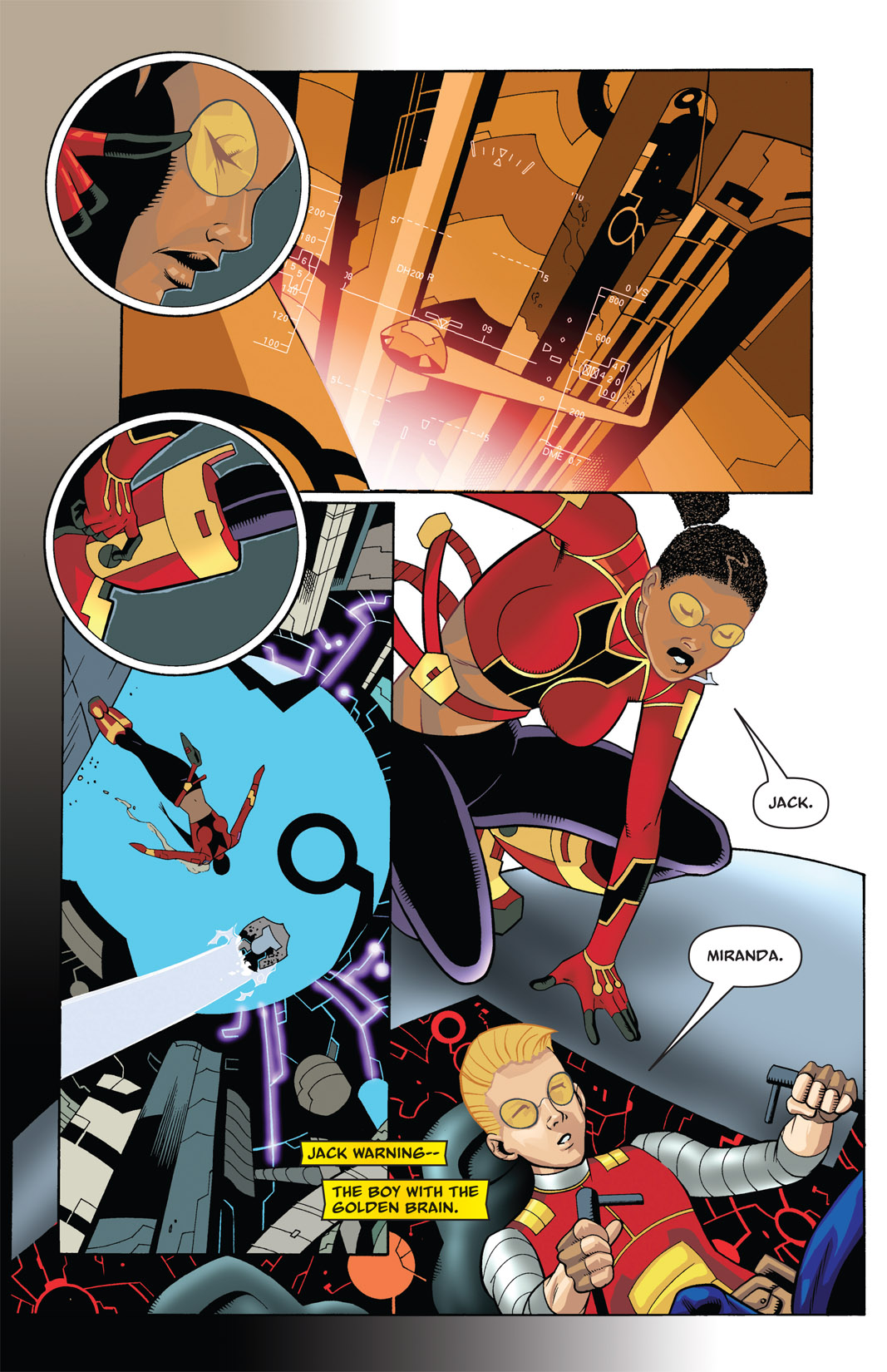 Read online The Many Adventures of Miranda Mercury: Time Runs Out comic -  Issue # TPB - 22