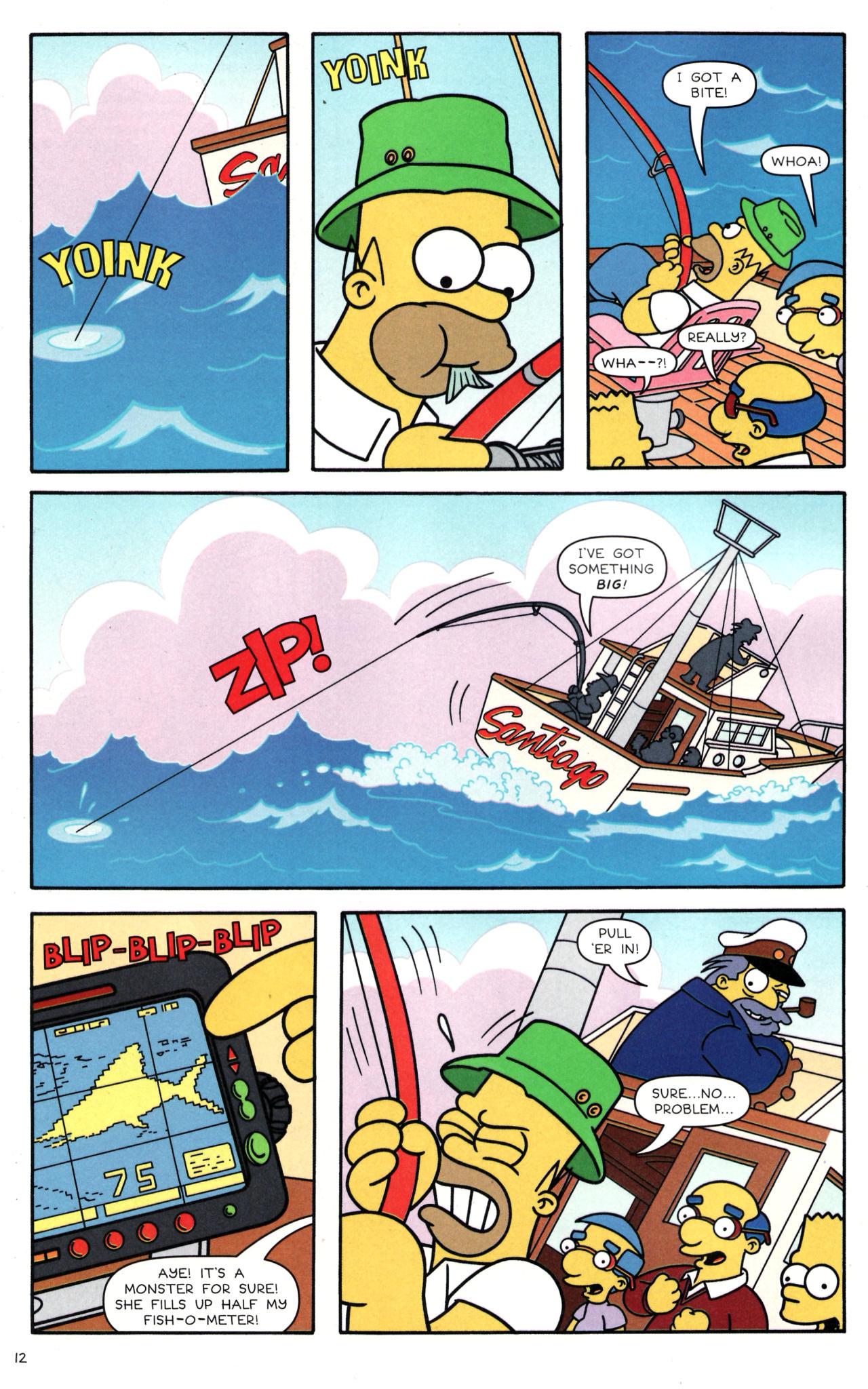 Read online Simpsons Comics comic -  Issue #135 - 11