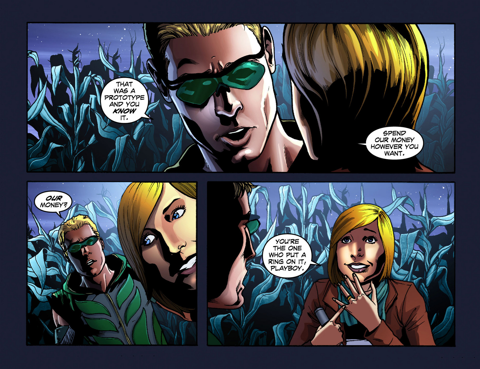 Read online Smallville: Season 11 comic -  Issue #7 - 4