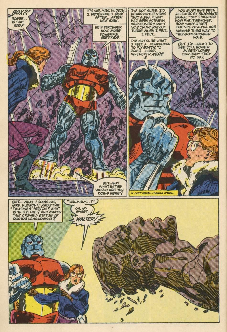 Read online Alpha Flight (1983) comic -  Issue #24 - 18