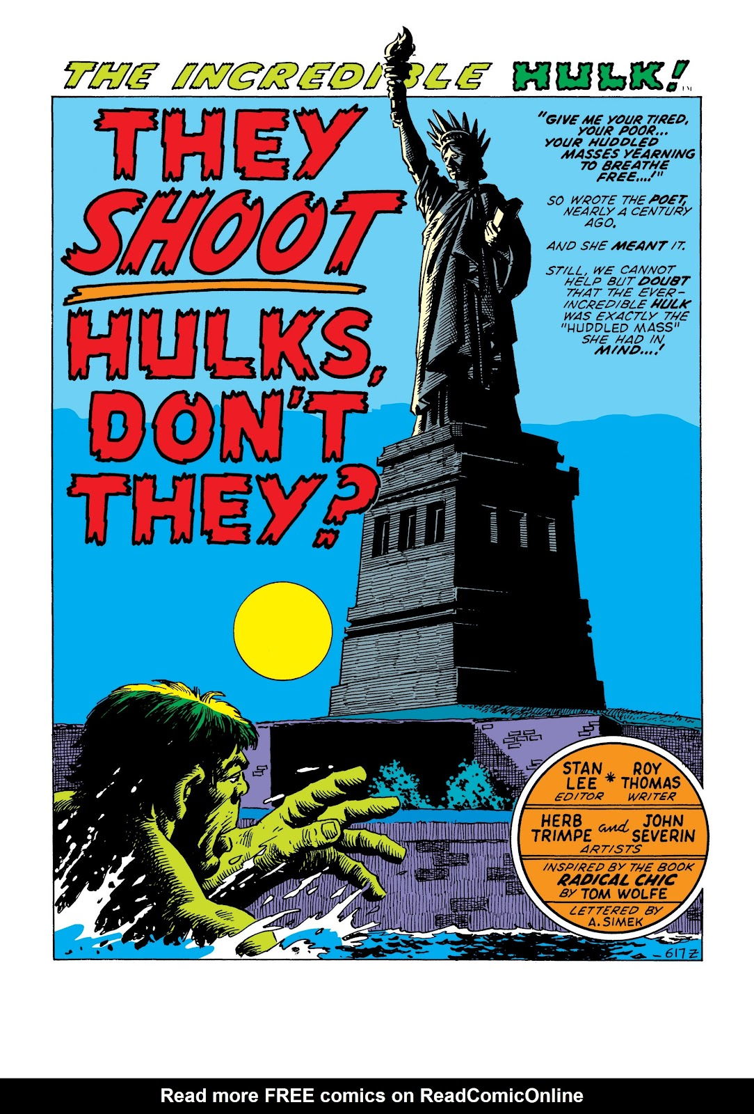 Read online Marvel Masterworks: The Incredible Hulk comic -  Issue # TPB 7 (Part 2) - 68